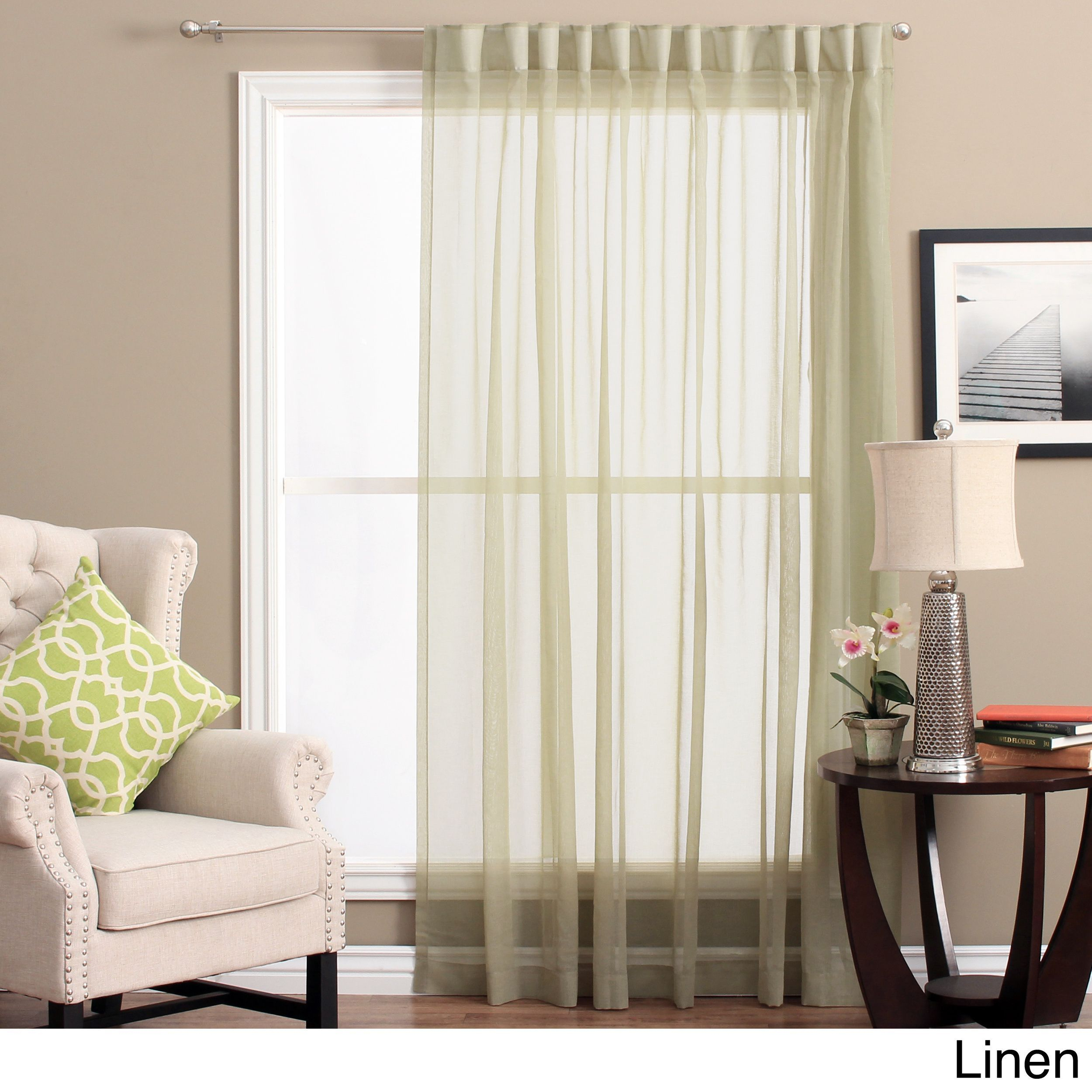 Ricardo Lucerne Wanda Pleat Back Tab Patio Curtain Panel Inside Jacob Tab Top Single Curtain Panels (View 20 of 20)
