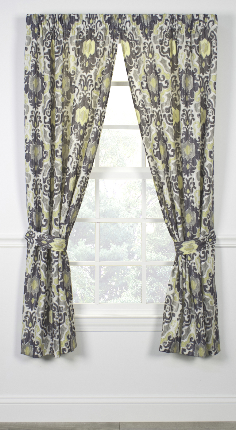 Rod Pocket Curtains – Thecurtainshop With Regard To Tuscan Thermal Backed Blackout Curtain Panel Pairs (Gallery 21 of 30)