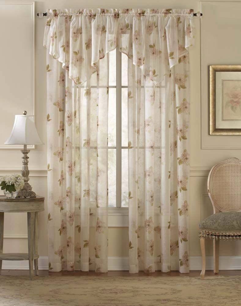 Sheer Curtain Panels With Designs – Proslimelt (View 13 of 30)