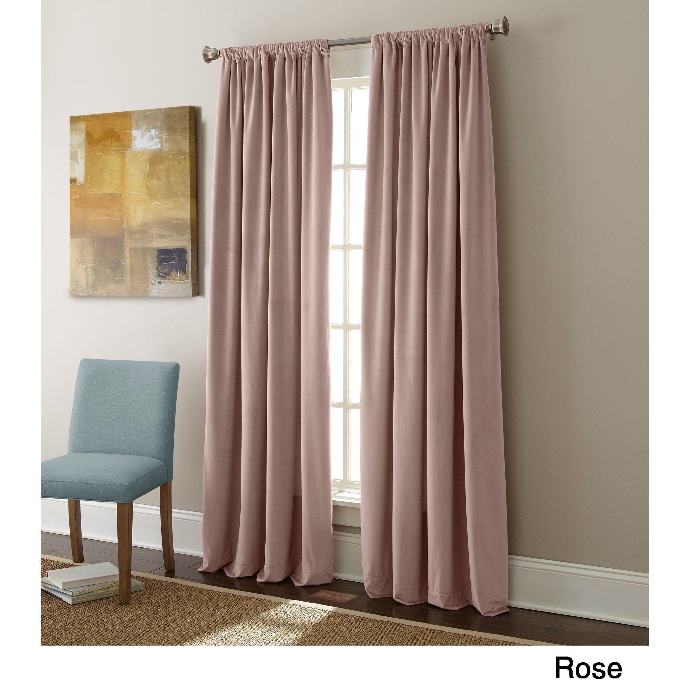 Sherry Kline Elite Velvet 84 Inch Curtain Panel Pair (beige With Velvet Heavyweight Grommet Top Curtain Panel Pairs (View 15 of 30)
