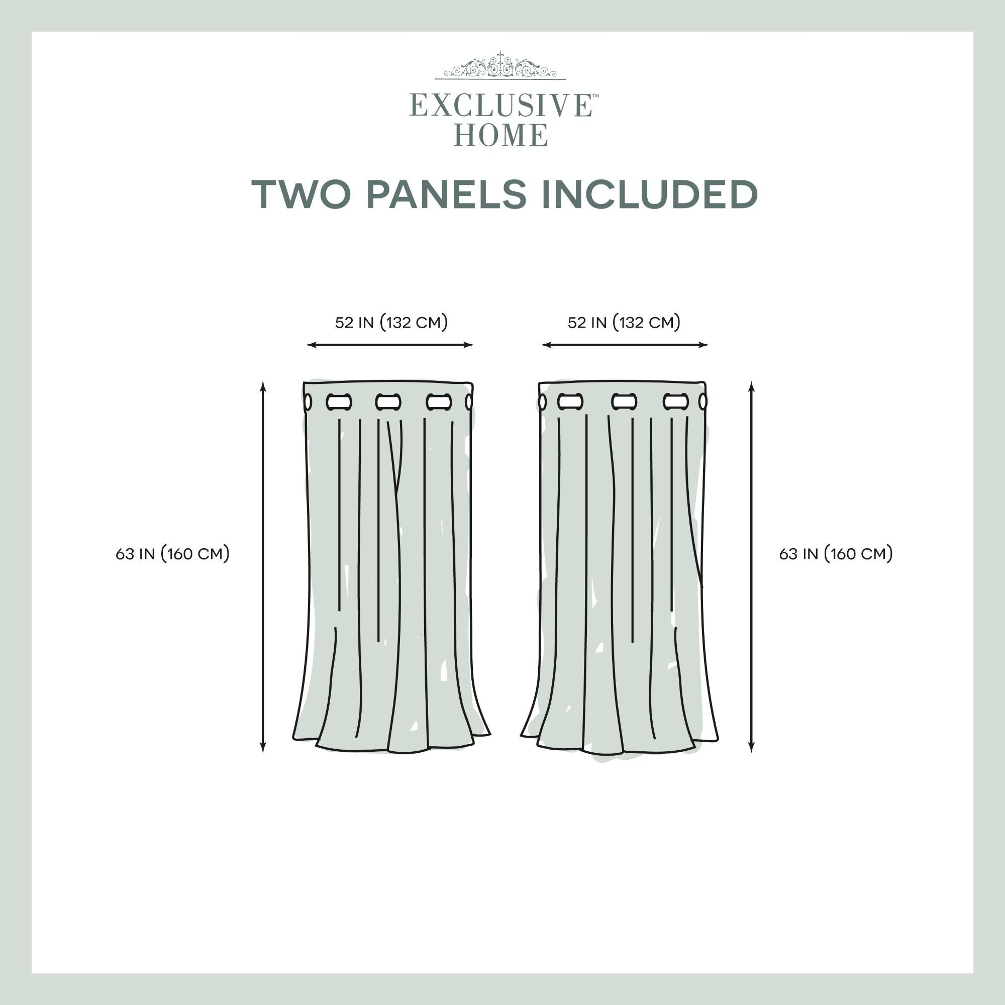 Shop Ati Home Catarina Layered Curtain Panel Pair With For Catarina Layered Curtain Panel Pairs With Grommet Top (View 18 of 20)