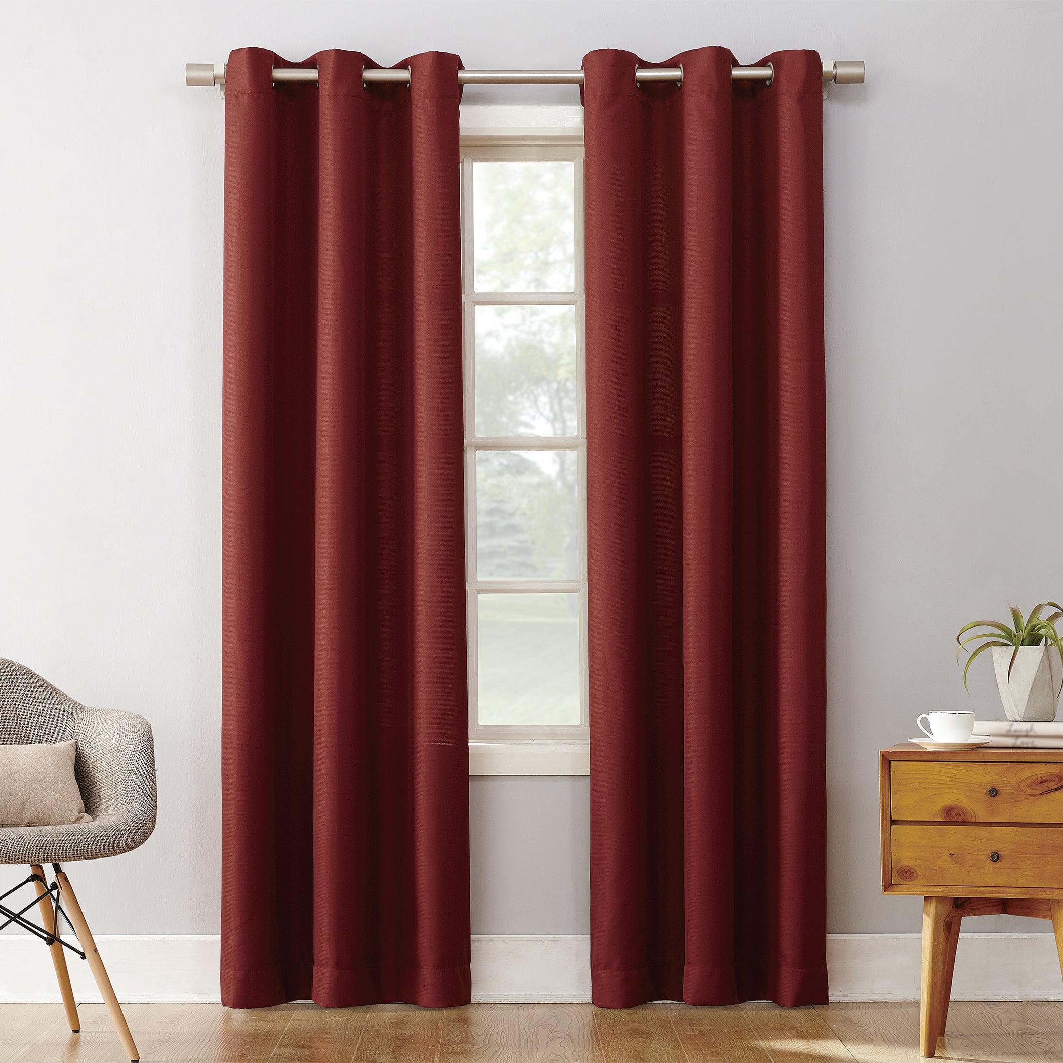 Shop Copper Grove Speedwell Grommet Window Curtain Panel Pertaining To Copper Grove Speedwell Grommet Window Curtain Panels (View 6 of 20)