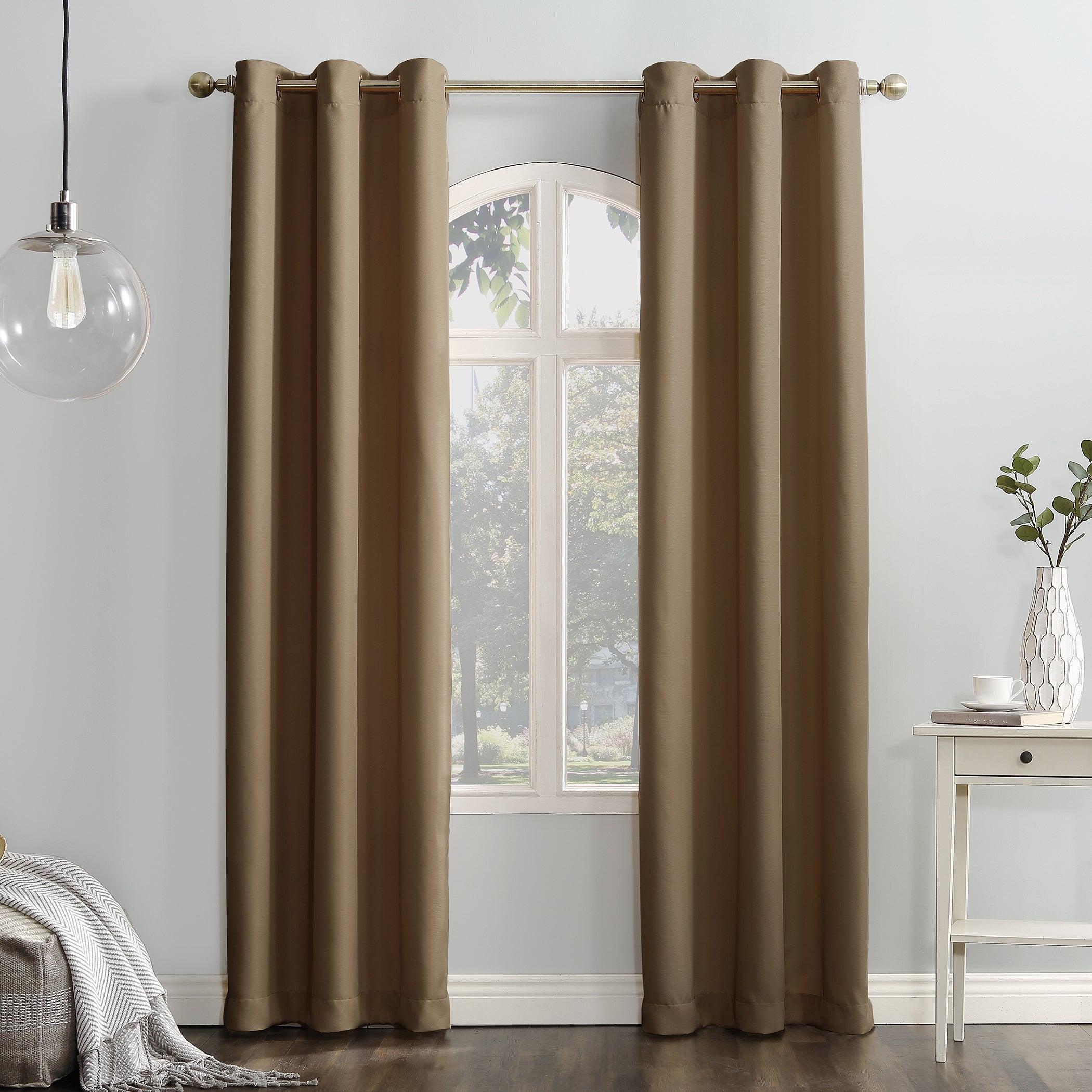 Shop Copper Grove Speedwell Grommet Window Curtain Panel With Regard To Copper Grove Speedwell Grommet Window Curtain Panels (View 2 of 20)