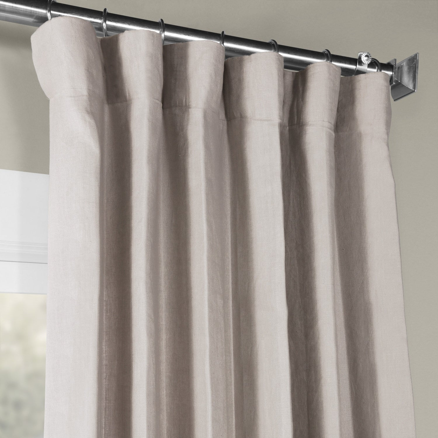 Featured Photo of French Linen Lined Curtain Panels