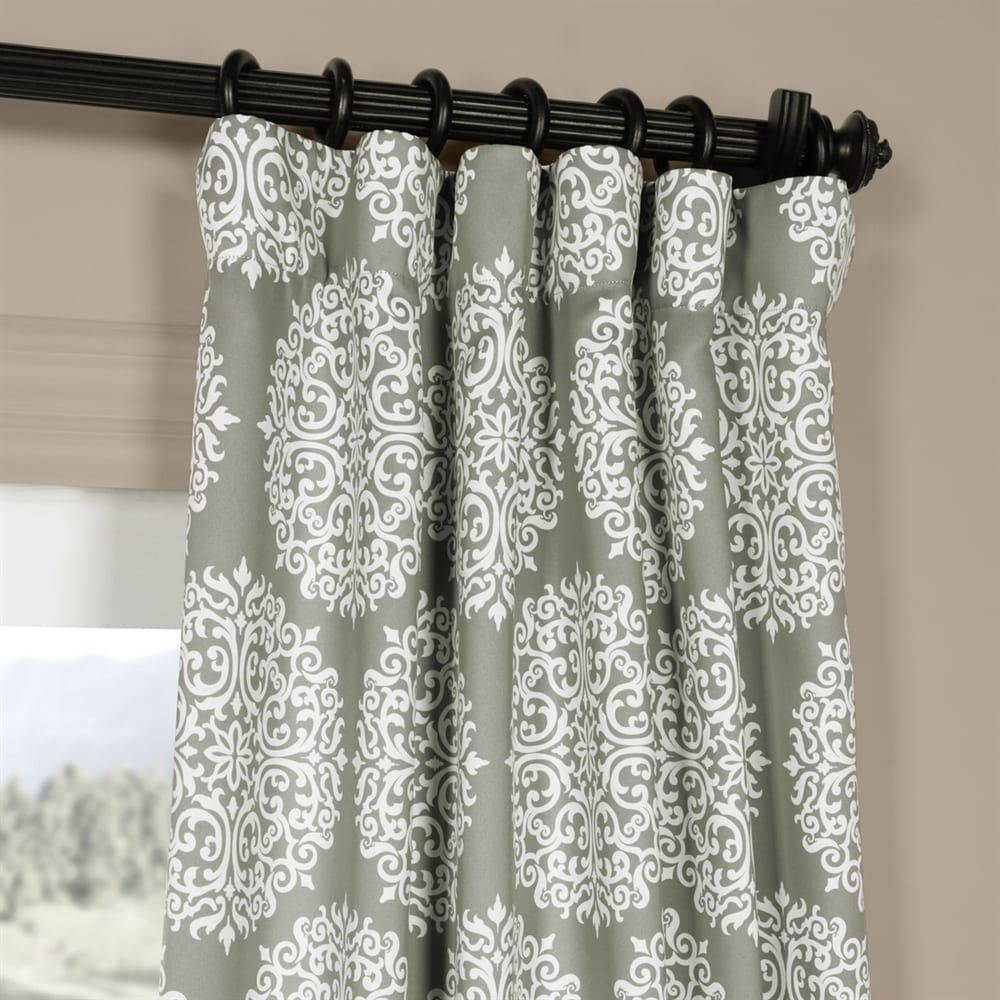 Shop Exclusive Fabrics & Furnishing Exclusive Fabrics For Meridian Blackout Window Curtain Panels (View 15 of 20)