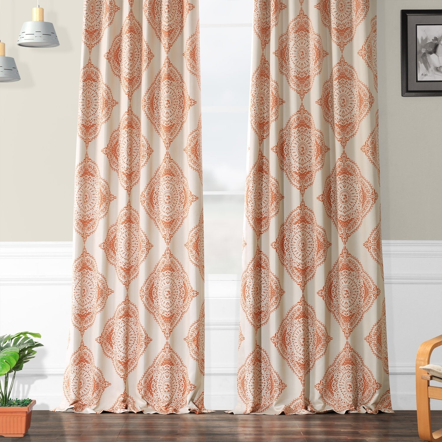 Shop Moroccan Style Thermal Insulated Blackout Curtain Panel For Moroccan Style Thermal Insulated Blackout Curtain Panel Pairs (View 6 of 20)