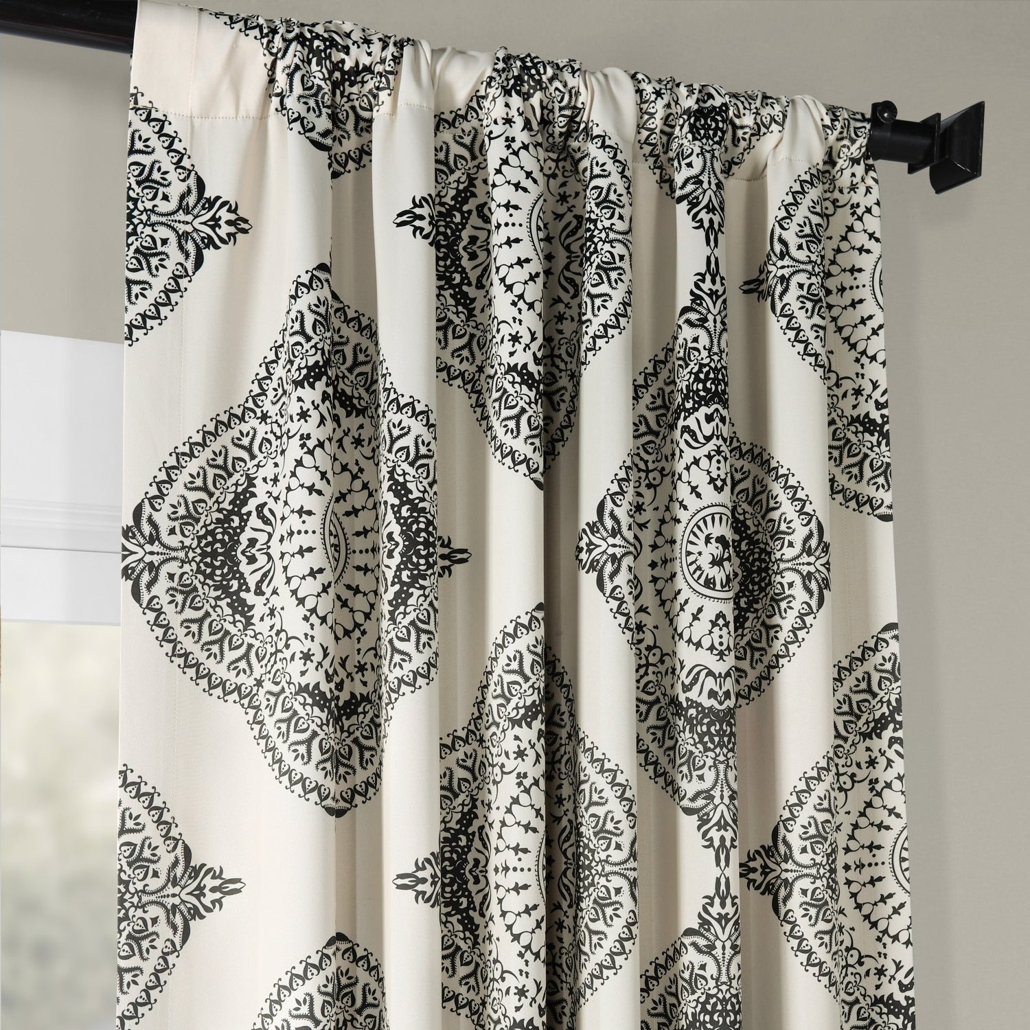Shop Moroccan Style Thermal Insulated Blackout Curtain Panel Intended For Moroccan Style Thermal Insulated Blackout Curtain Panel Pairs (View 3 of 20)