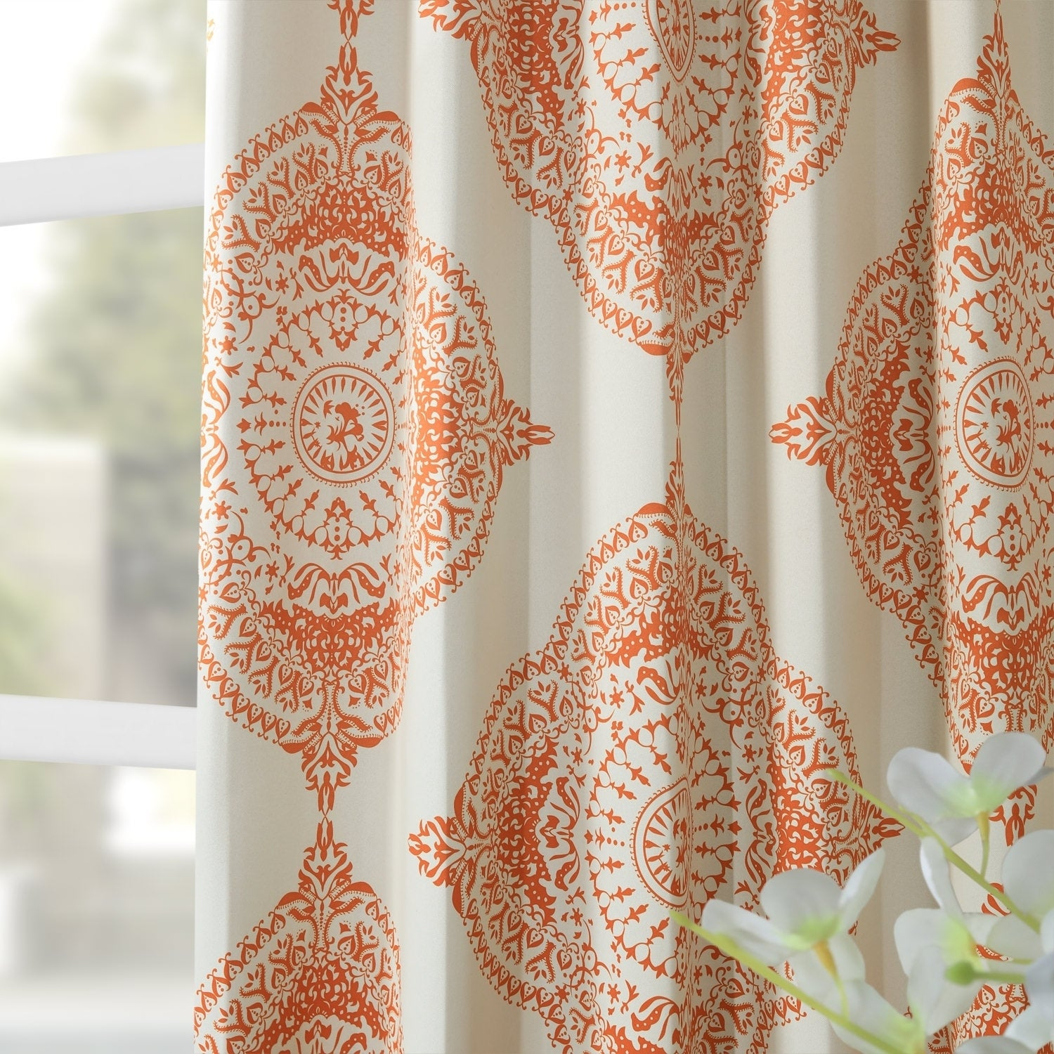 Shop Moroccan Style Thermal Insulated Blackout Curtain Panel With Moroccan Style Thermal Insulated Blackout Curtain Panel Pairs (View 18 of 20)