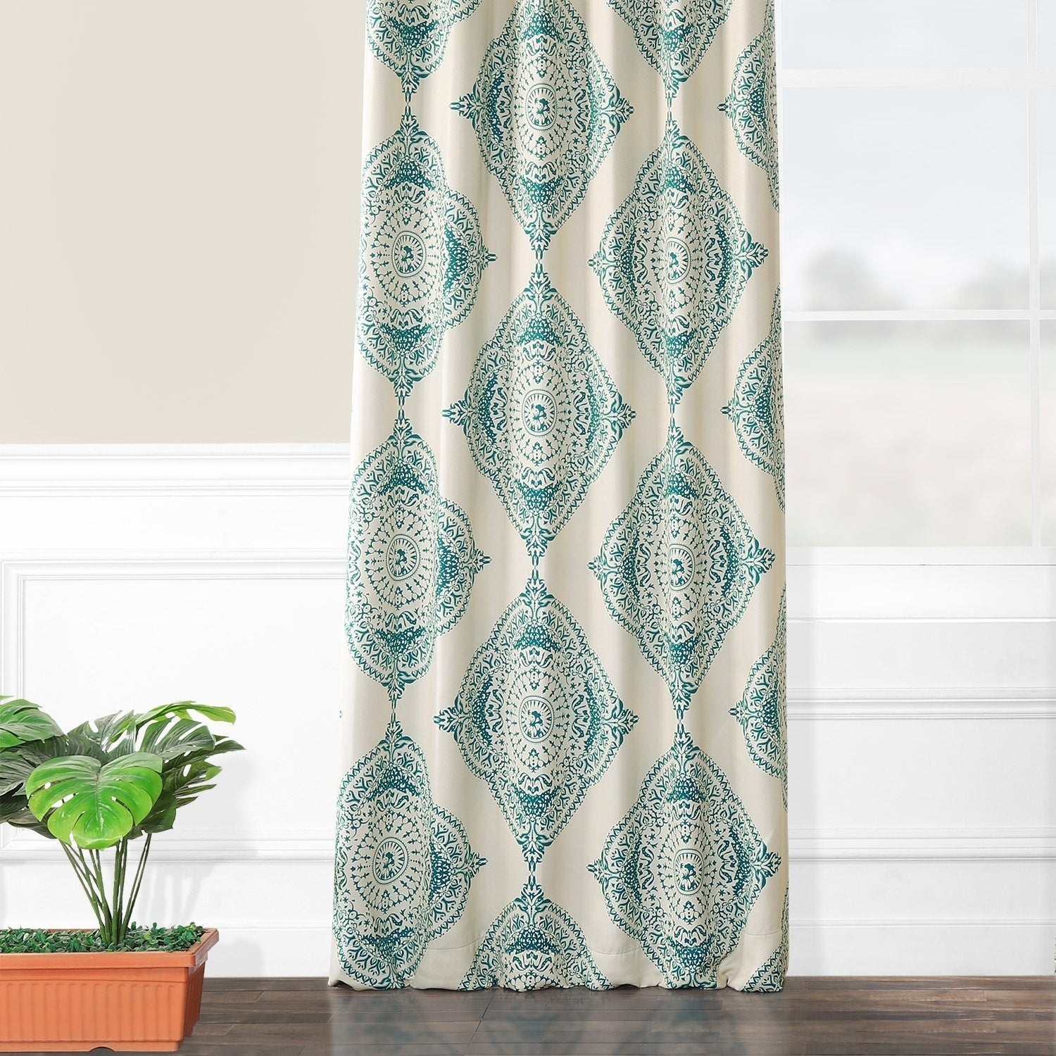 Shop Moroccan Style Thermal Insulated Blackout Curtain Panel With Moroccan Style Thermal Insulated Blackout Curtain Panel Pairs (View 9 of 20)