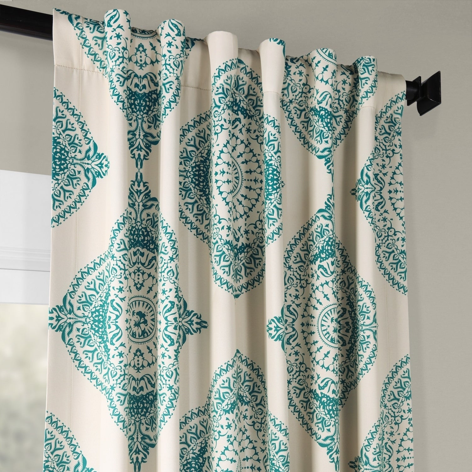 Shop Moroccan Style Thermal Insulated Blackout Curtain Panel With Regard To Moroccan Style Thermal Insulated Blackout Curtain Panel Pairs (View 4 of 20)