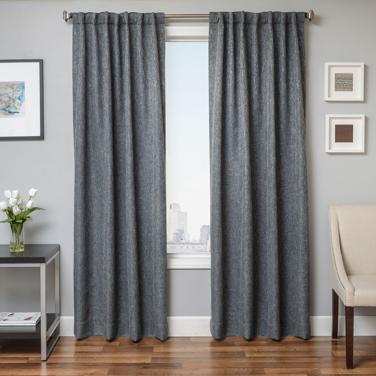 Softline Home Fashions Drapery Breda Swatch Set For Solid Cotton Curtain Panels (View 30 of 30)