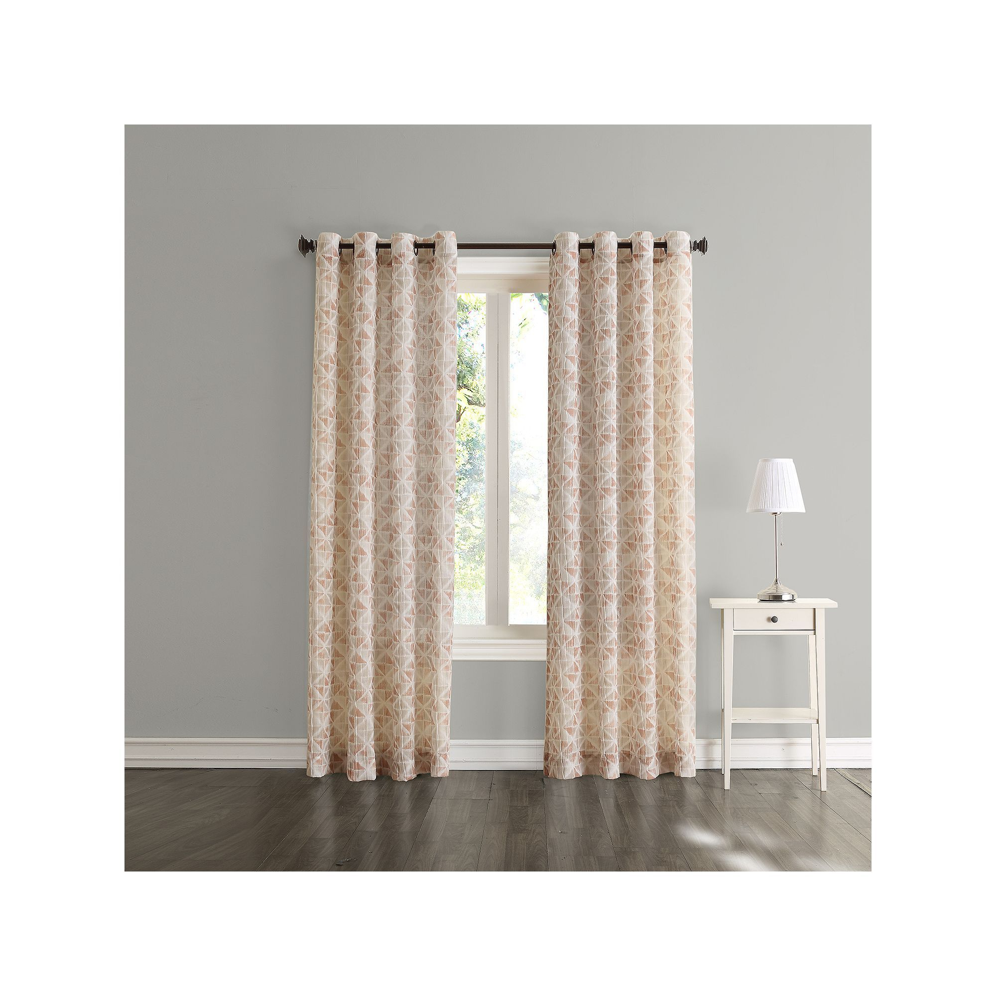 Sonoma Goods For Life™ Jaden Window Curtain   Products Throughout Vina Sheer Bird Single Curtain Panels (View 24 of 30)