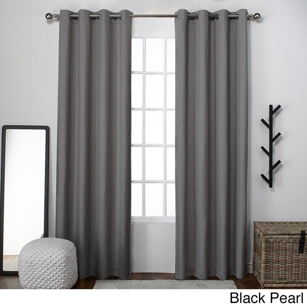 Sugar Creek Grommet Top Loha Linen Window Curtain Panel Pair | Overstock Shopping – The Best Deals On Curtains Pertaining To Sugar Creek Grommet Top Loha Linen Window Curtain Panel Pairs (View 5 of 30)