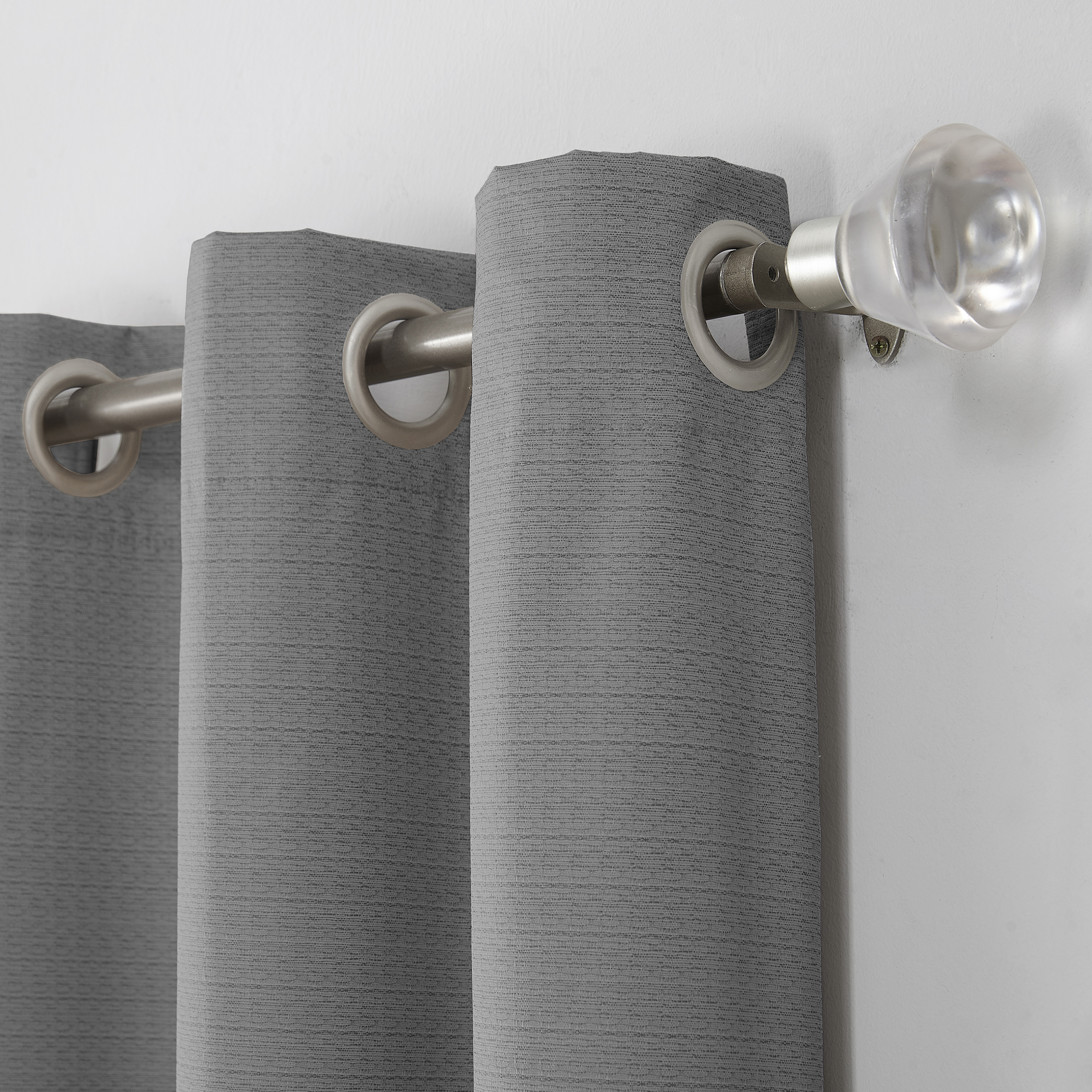 Sun Zero Cooper Textured Thermal Lined Room Darkening Energy In Cooper Textured Thermal Insulated Grommet Curtain Panels (View 8 of 20)