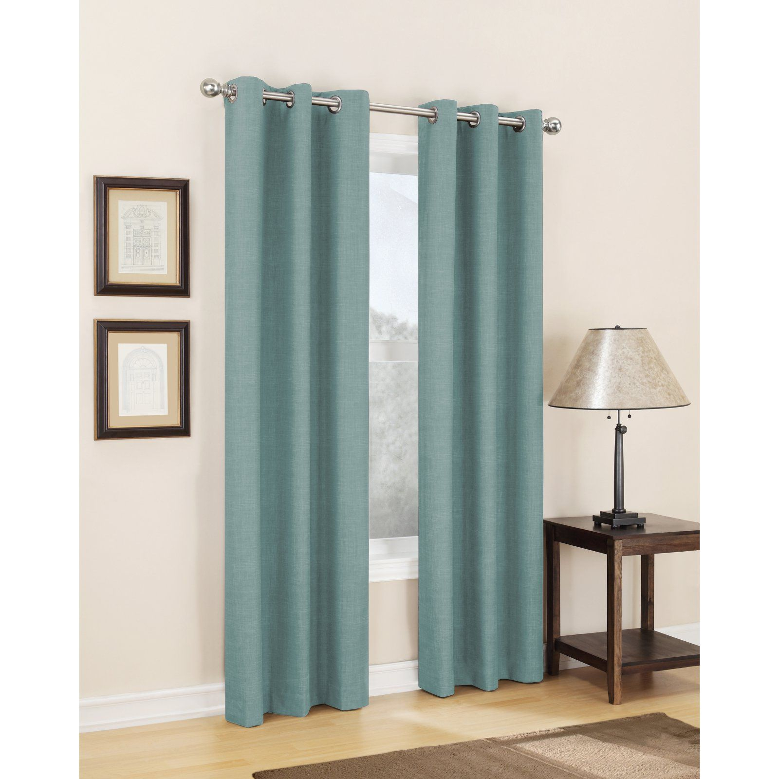 Sun Zero Dean Thermal Lined Grommet Curtain Panel In 2019 Regarding Lined Grommet Curtain Panels (View 19 of 20)