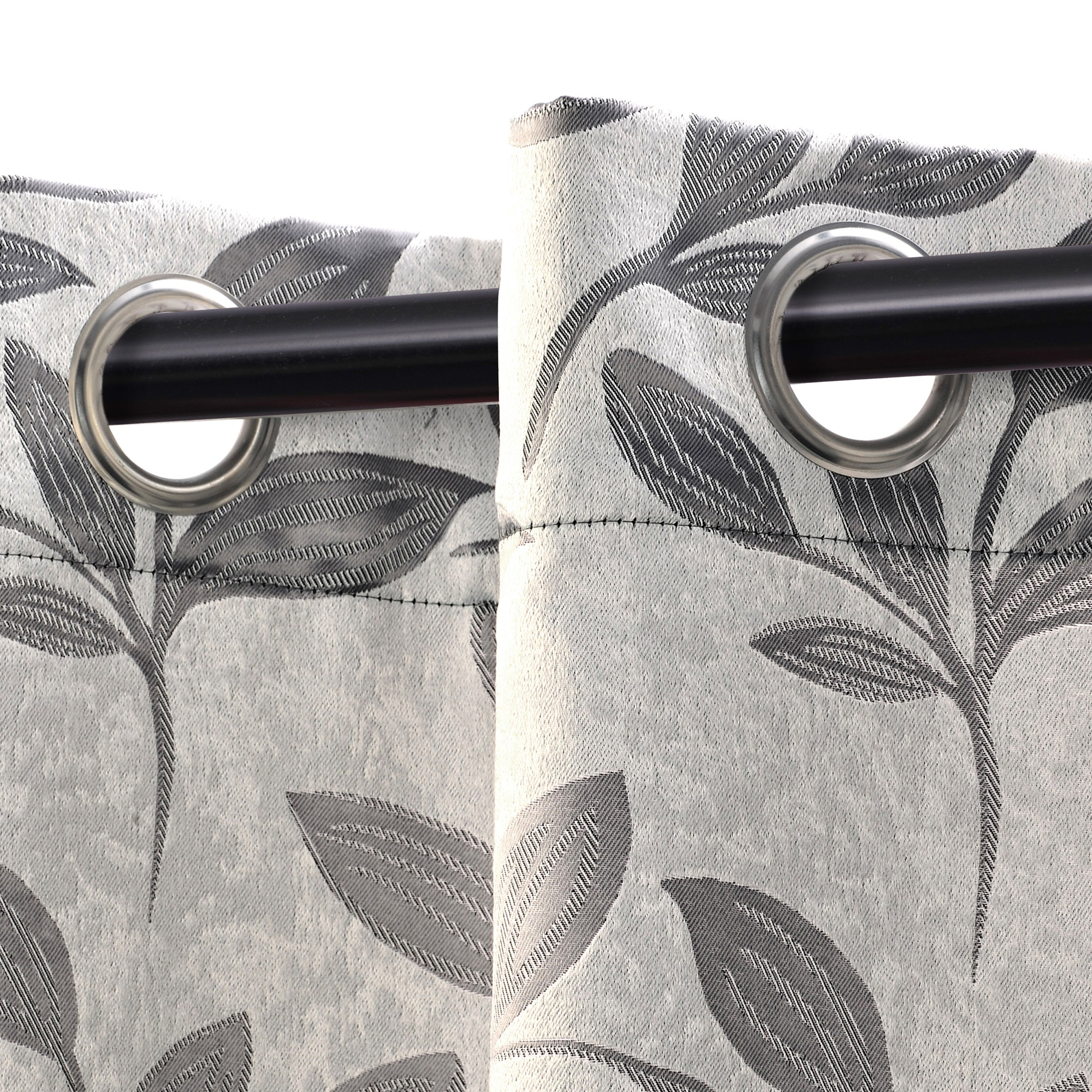 Superior Leaves Insulated Thermal Blackout Grommet Curtain Panel Pair With Superior Leaves Insulated Thermal Blackout Grommet Curtain Panel Pairs (View 8 of 30)
