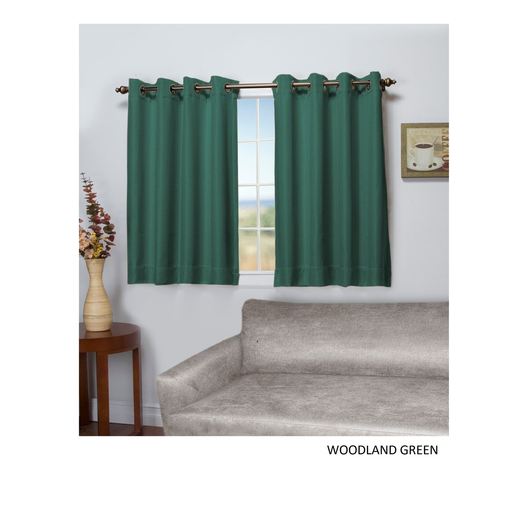 Tacoma Double-Blackout Grommet Curtain Panel - Short Length inside Tacoma Double-Blackout Grommet Curtain Panels (Image 24 of 30)