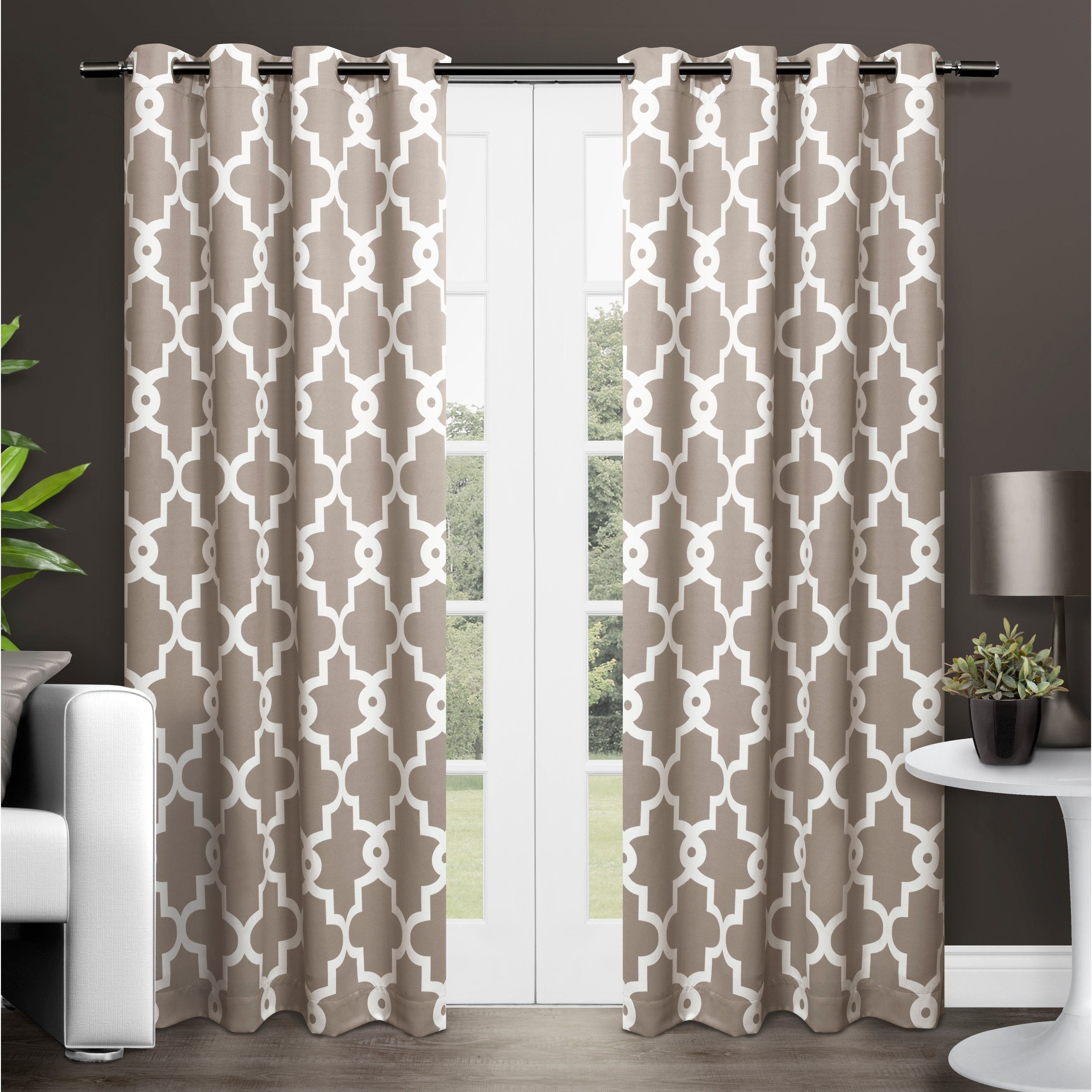 The Curated Nomad Duane Blackout Curtain Panel Pair With The Curated Nomad Duane Jacquard Grommet Top Curtain Panel Pairs (View 22 of 30)