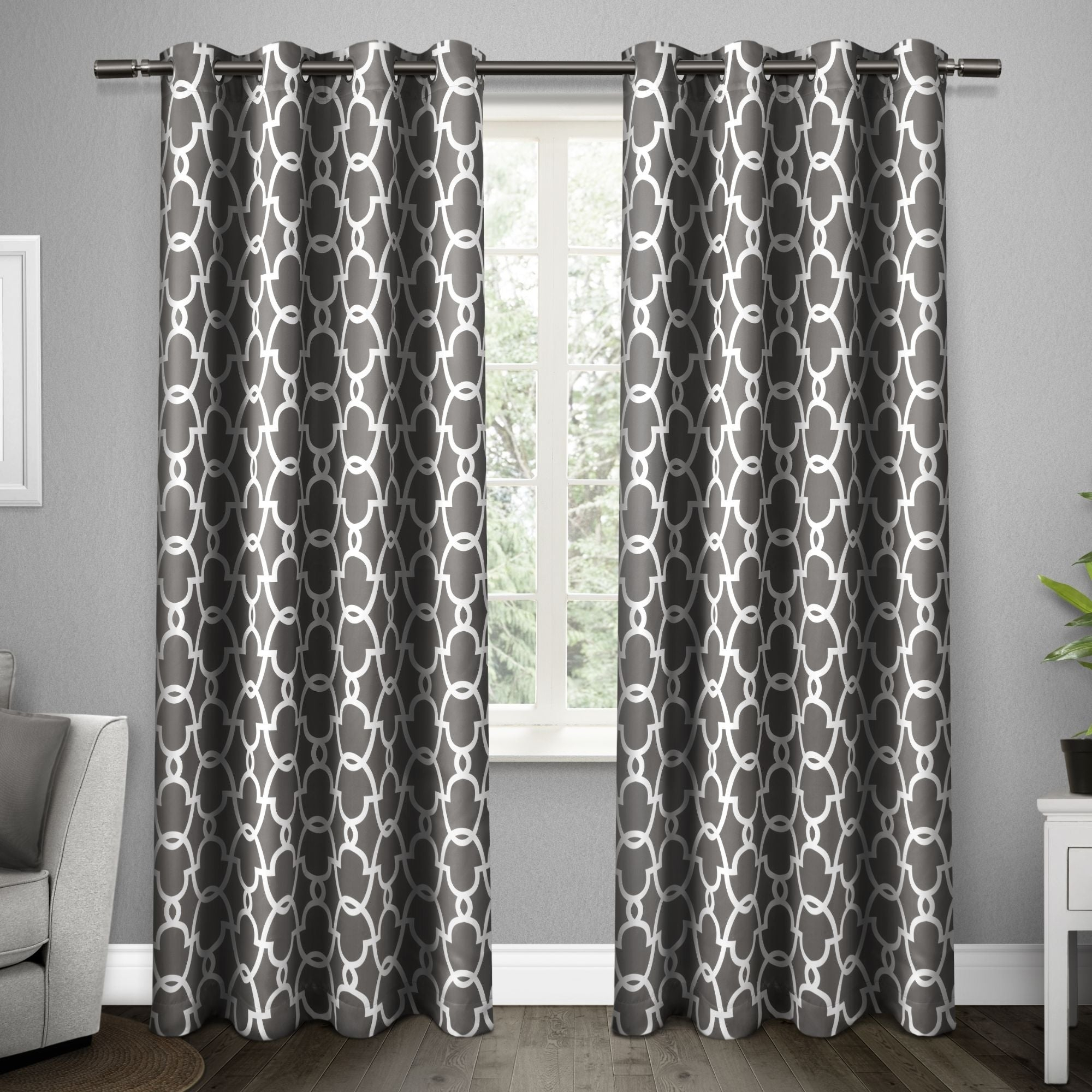 The Curated Nomad Vicksburg Thermal Woven Blackout Grommet Top Curtain Panel Pair Intended For The Curated Nomad Duane Blackout Curtain Panel Pairs (View 6 of 30)