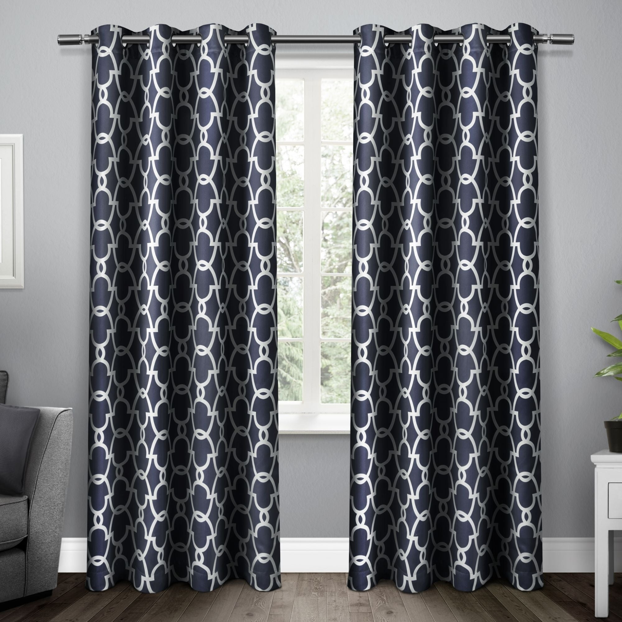 The Curated Nomad Vicksburg Thermal Woven Blackout Grommet Top Curtain Panel Pair Within The Curated Nomad Duane Blackout Curtain Panel Pairs (View 12 of 30)
