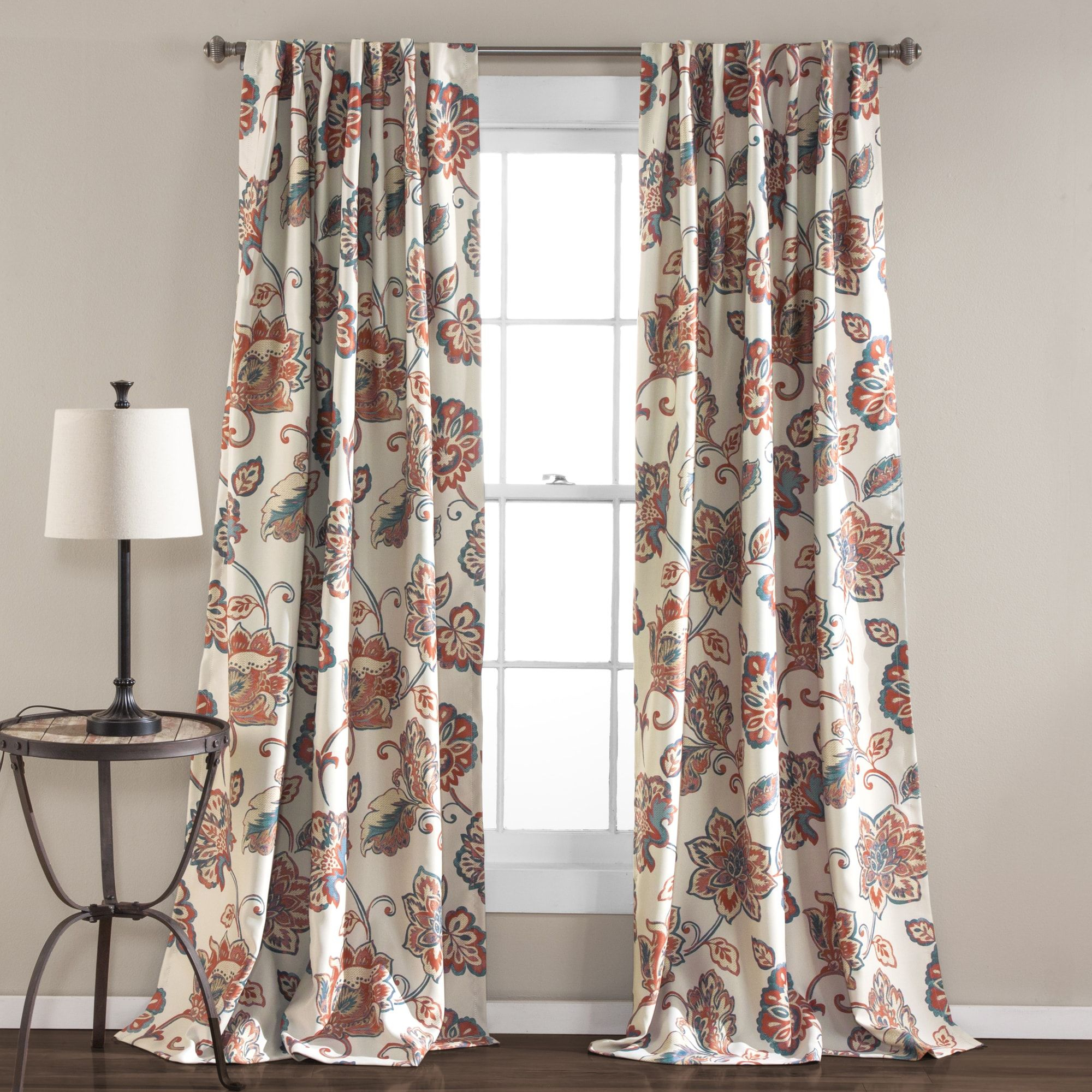 The Gray Barn Dogwood Floral Curtain Panel Pair (aster Inside Gray Barn Dogwood Floral Curtain Panel Pairs (View 2 of 20)
