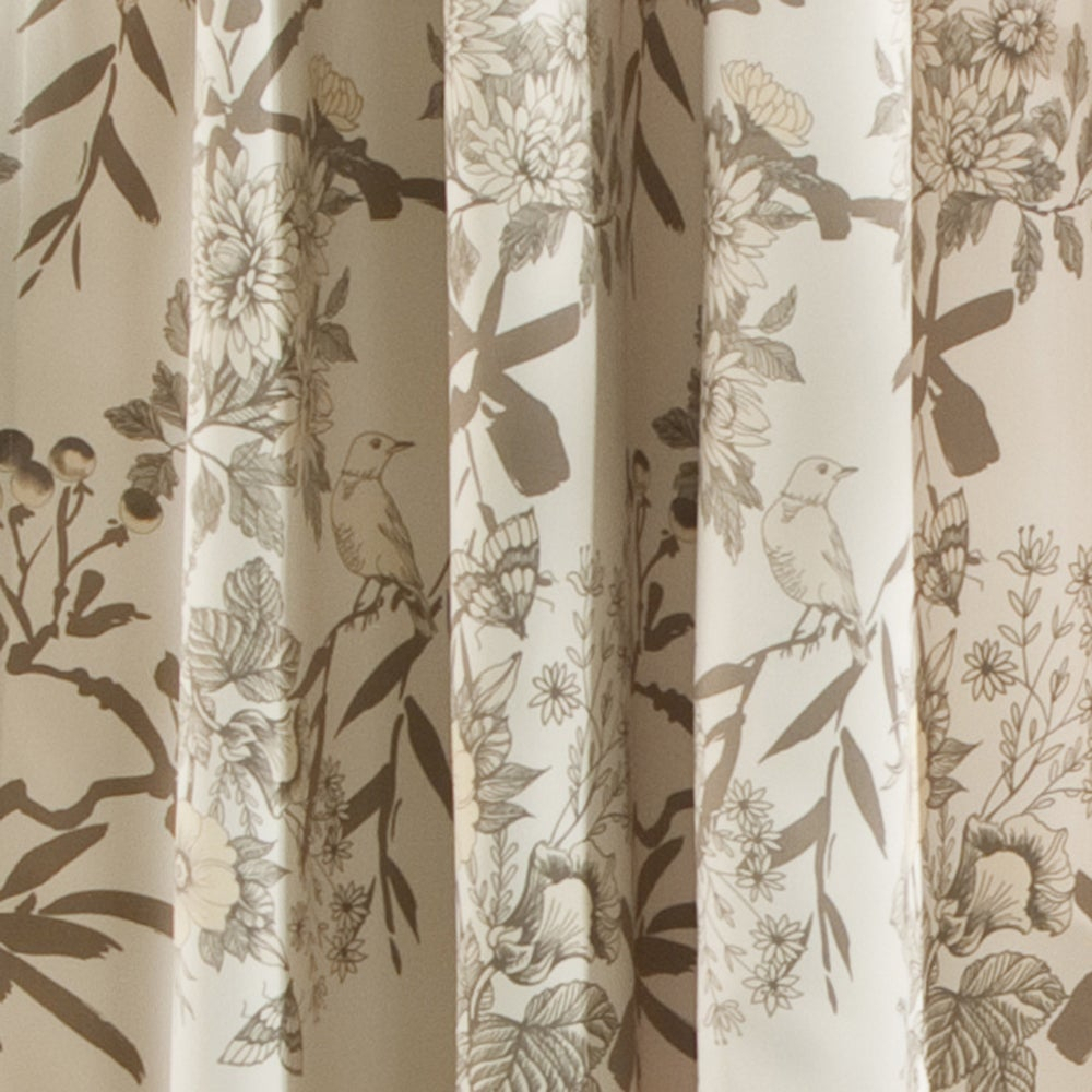 The Gray Barn Dogwood Floral Curtain Panel Pair For Gray Barn Dogwood Floral Curtain Panel Pairs (View 6 of 20)