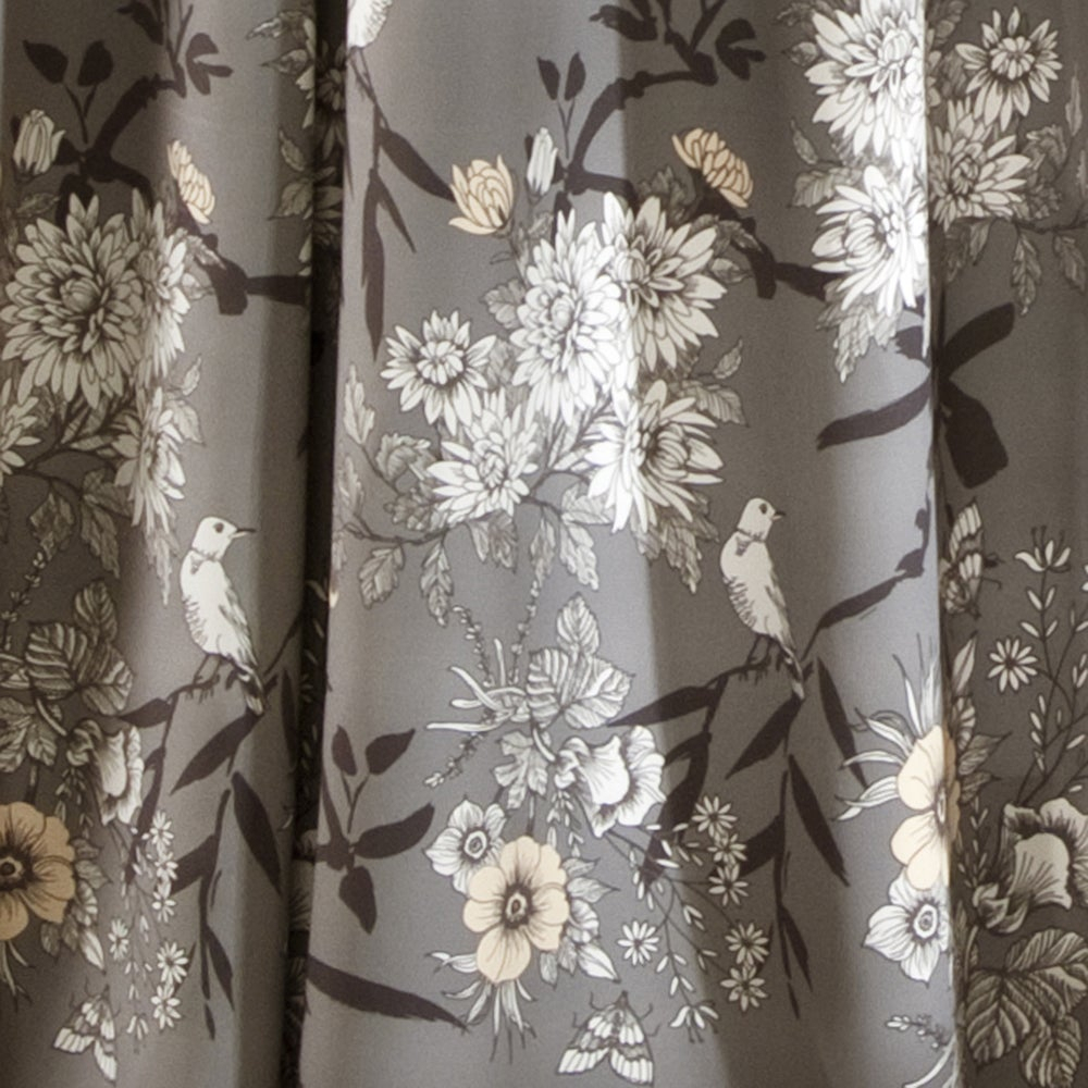 The Gray Barn Dogwood Floral Curtain Panel Pair Intended For Gray Barn Dogwood Floral Curtain Panel Pairs (View 7 of 20)