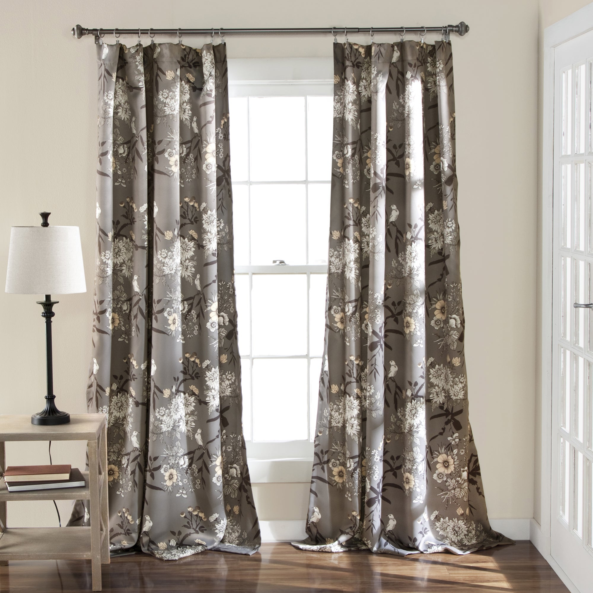 The Gray Barn Dogwood Floral Curtain Panel Pair Intended For The Gray Barn Gila Curtain Panel Pairs (View 4 of 30)