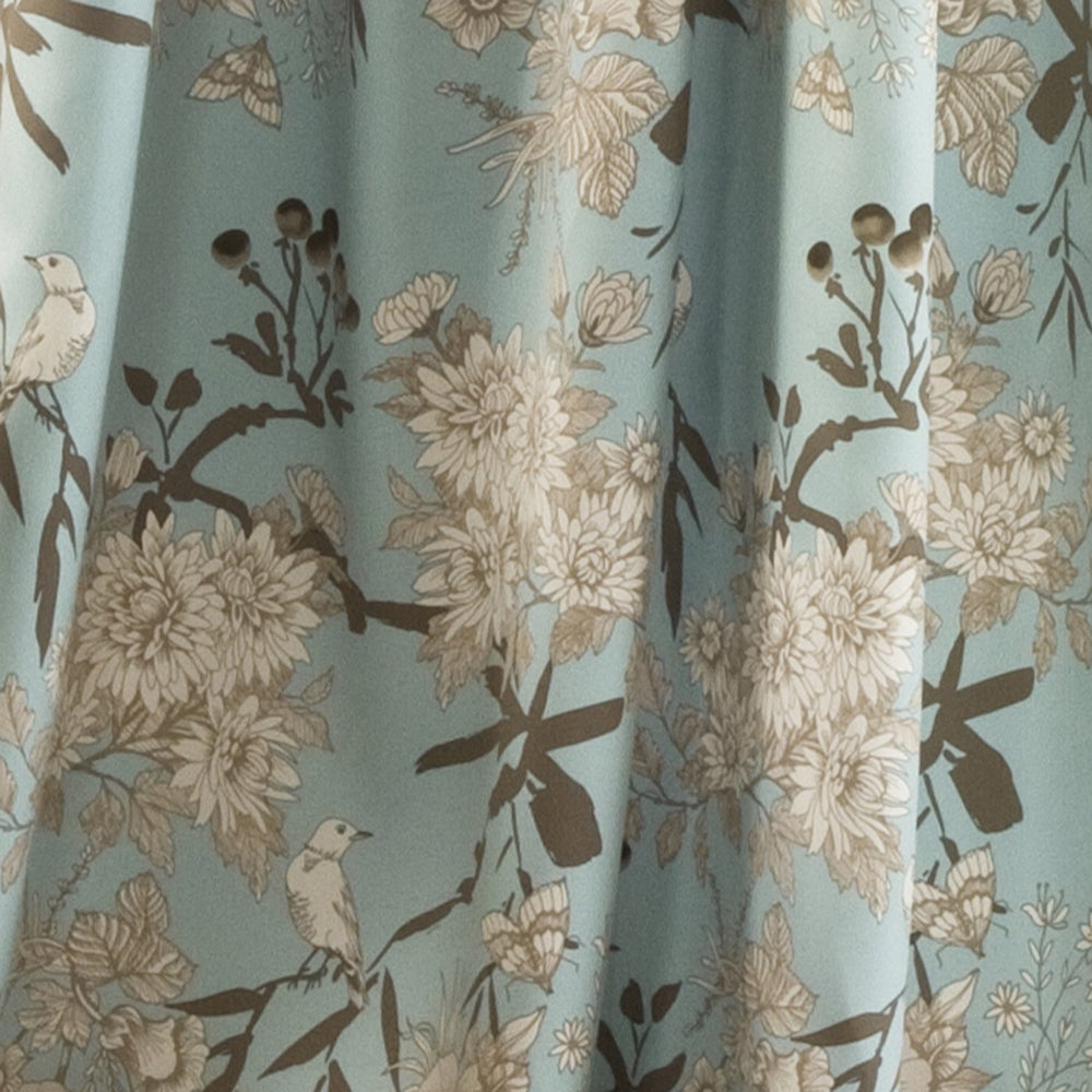 The Gray Barn Dogwood Floral Curtain Panel Pair Regarding Gray Barn Dogwood Floral Curtain Panel Pairs (View 8 of 20)