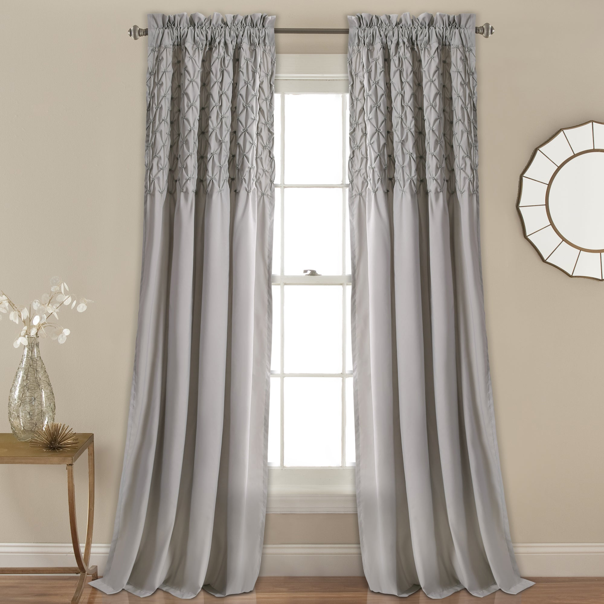 The Gray Barn Sunset Hollow Window Curtain Panel Pair Intended For The Gray Barn Gila Curtain Panel Pairs (View 2 of 30)