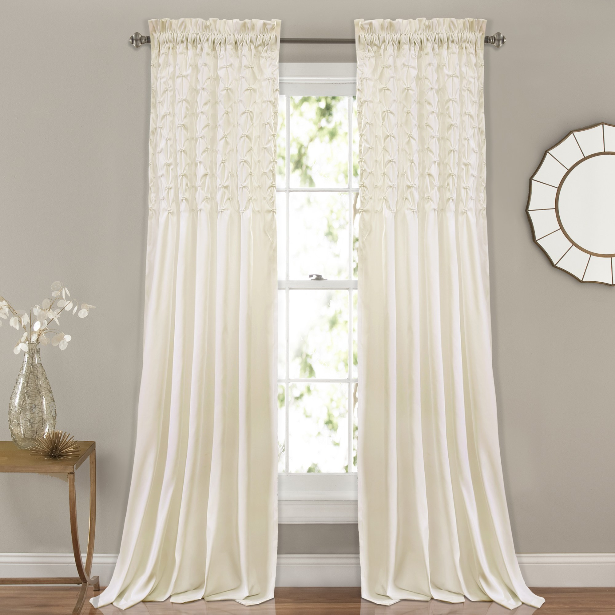 The Gray Barn Sunset Hollow Window Curtain Panel Pair Regarding The Gray Barn Gila Curtain Panel Pairs (View 5 of 30)