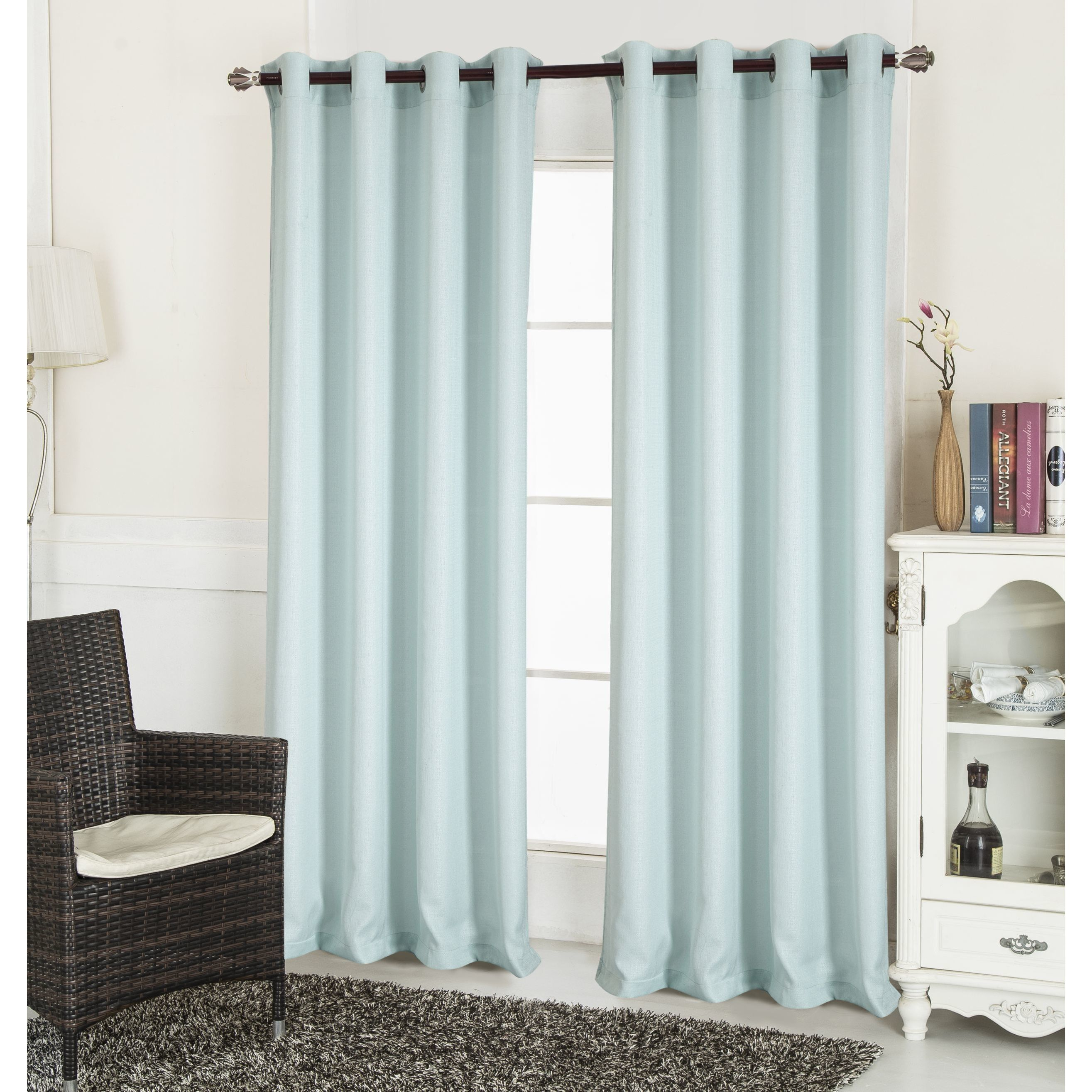 "The Gray Barn Yturria Textured Single Curtain Panel 90"" In White (as Is Item) Inside The Gray Barn Kind Koala Curtain Panel Pairs (View 3 of 30)"
