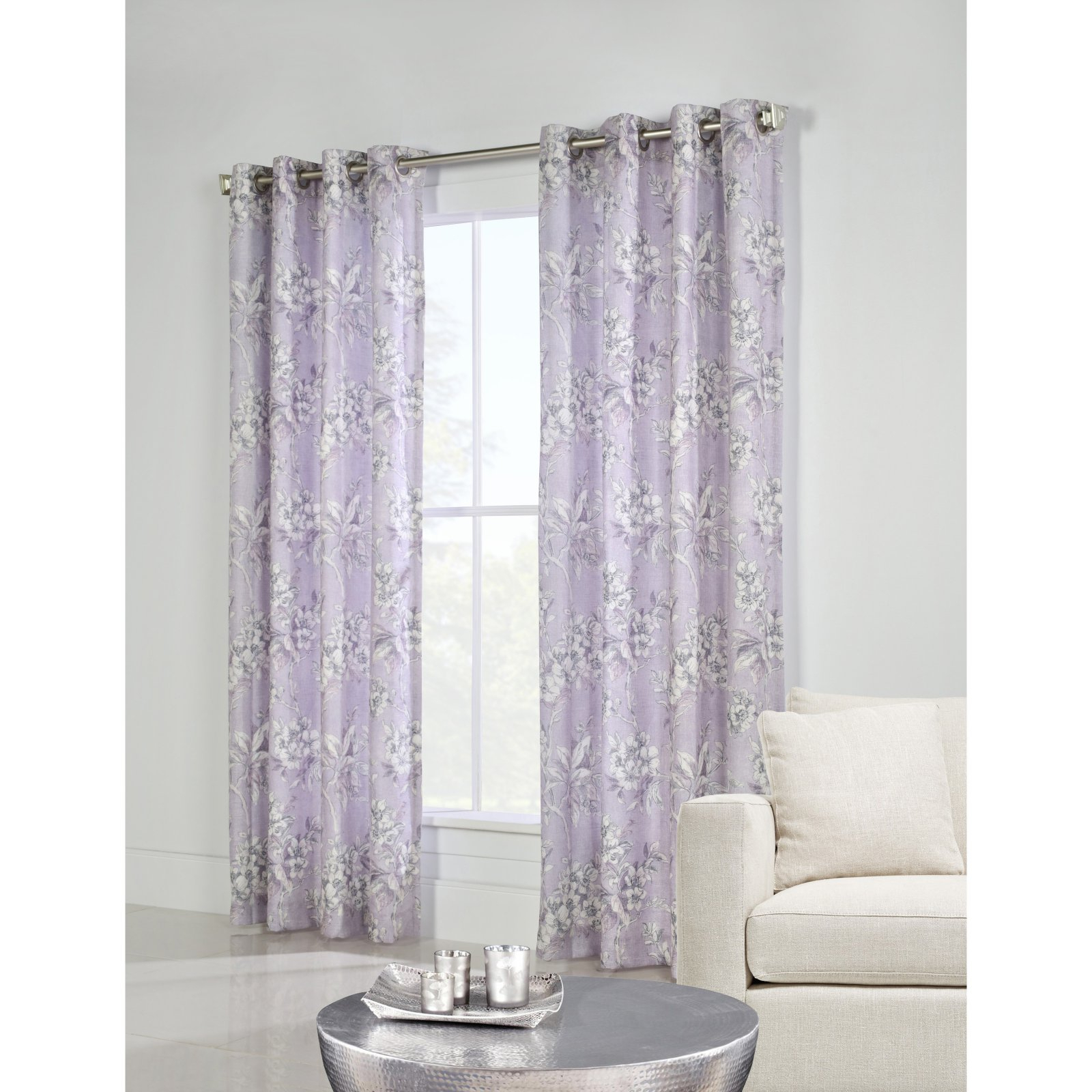 Thermalogic Caldwell Lined Grommet Top Curtain Single Panel Inside Caldwell Curtain Panel Pairs (View 12 of 20)