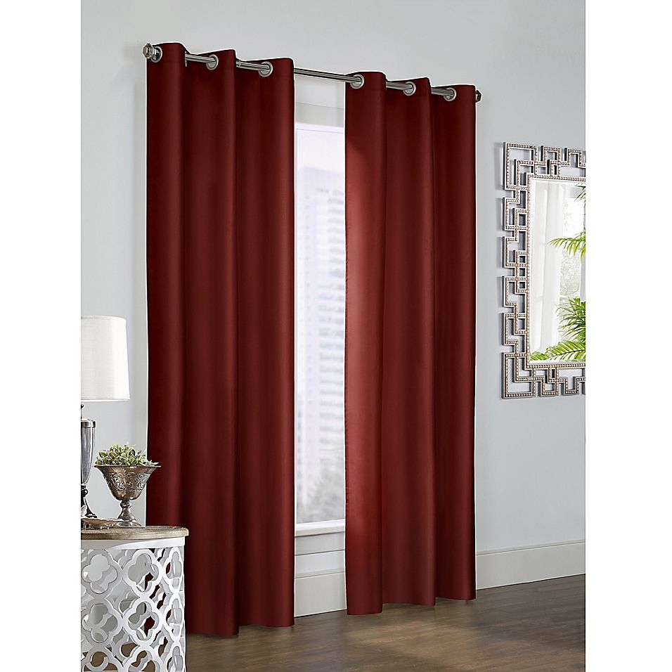 "Thermalogic Prescott 84"" Grommet Window Curtain Panel Pair In Nantahala Rod Pocket Room Darkening Patio Door Single Curtain Panels (View 18 of 20)"