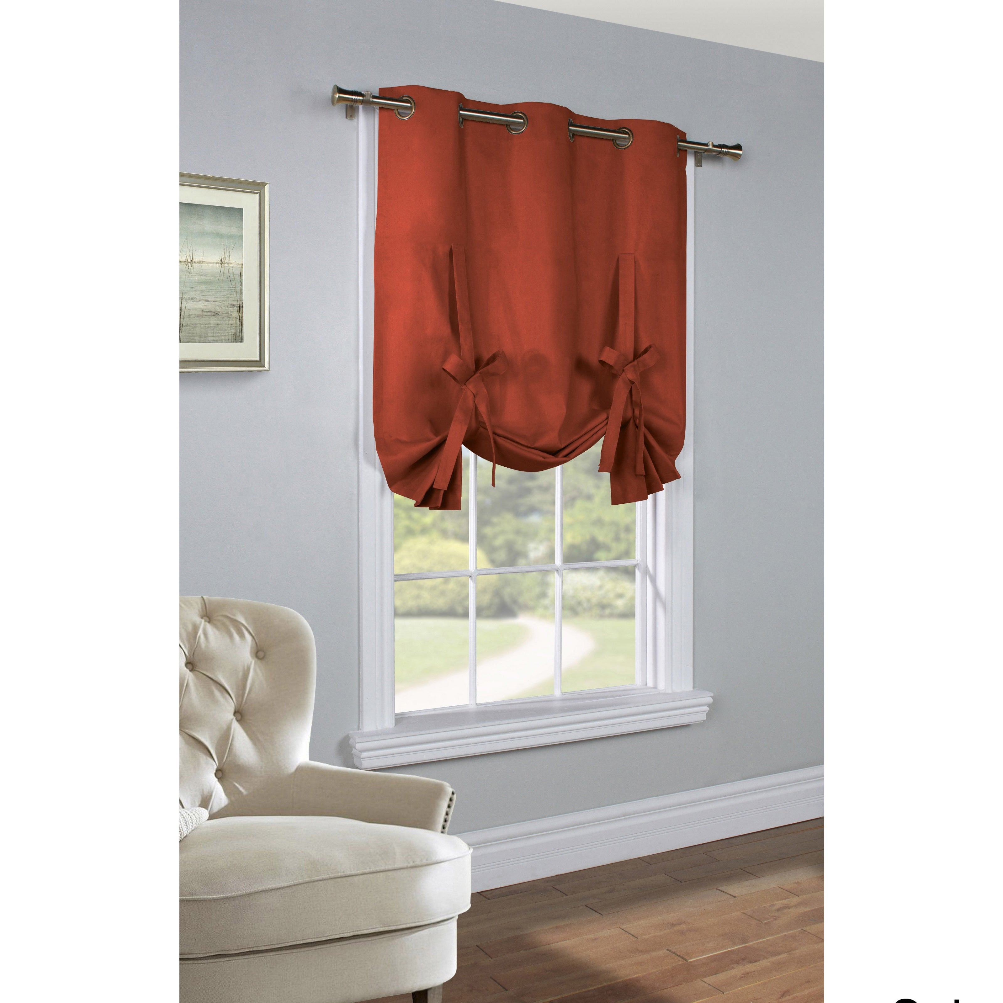 Featured Photo of Prescott Insulated Tie Up Window Shade