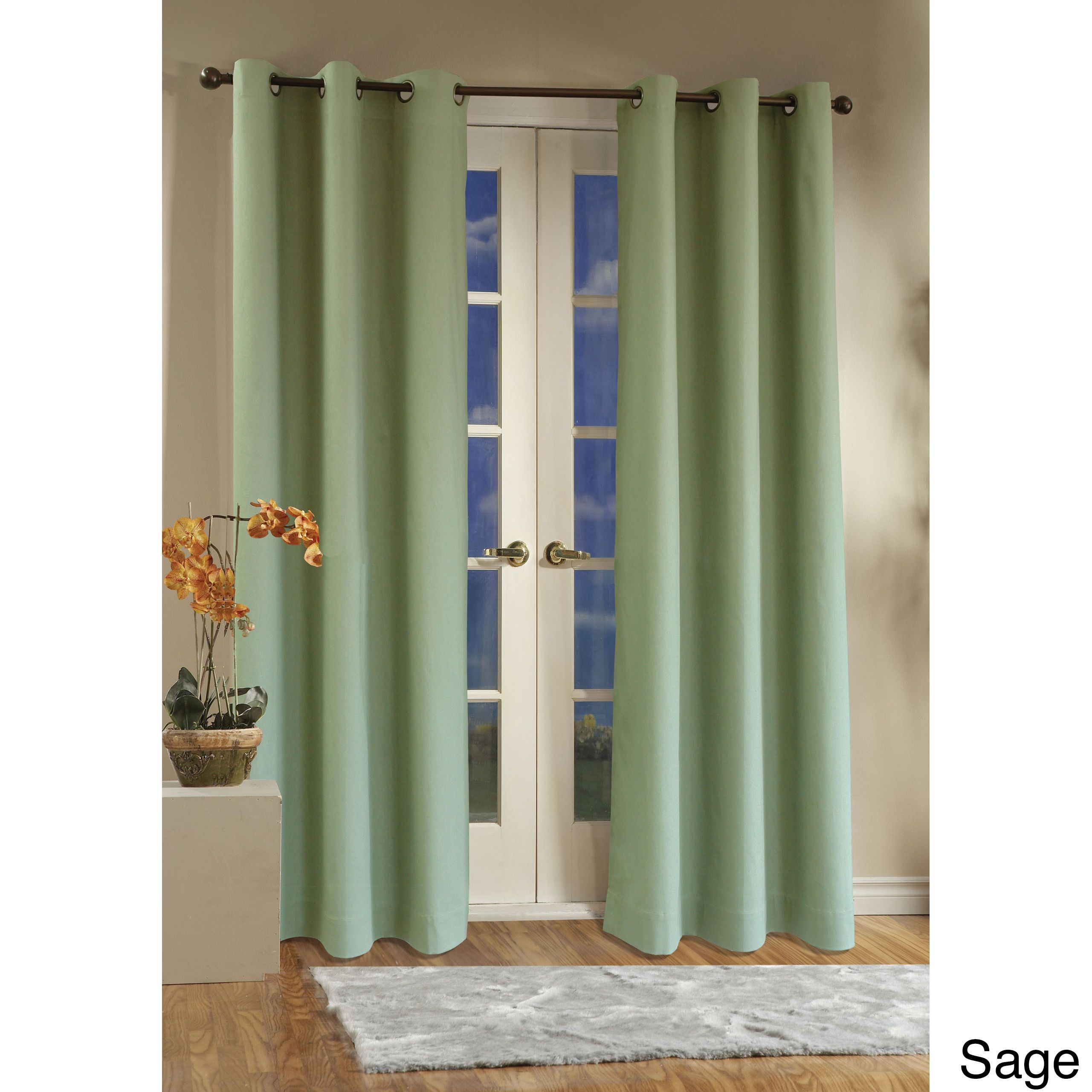 Thermalogic Weathermate Insulated Grommet Curtain Panel Pair Intended For Insulated Cotton Curtain Panel Pairs (View 16 of 20)