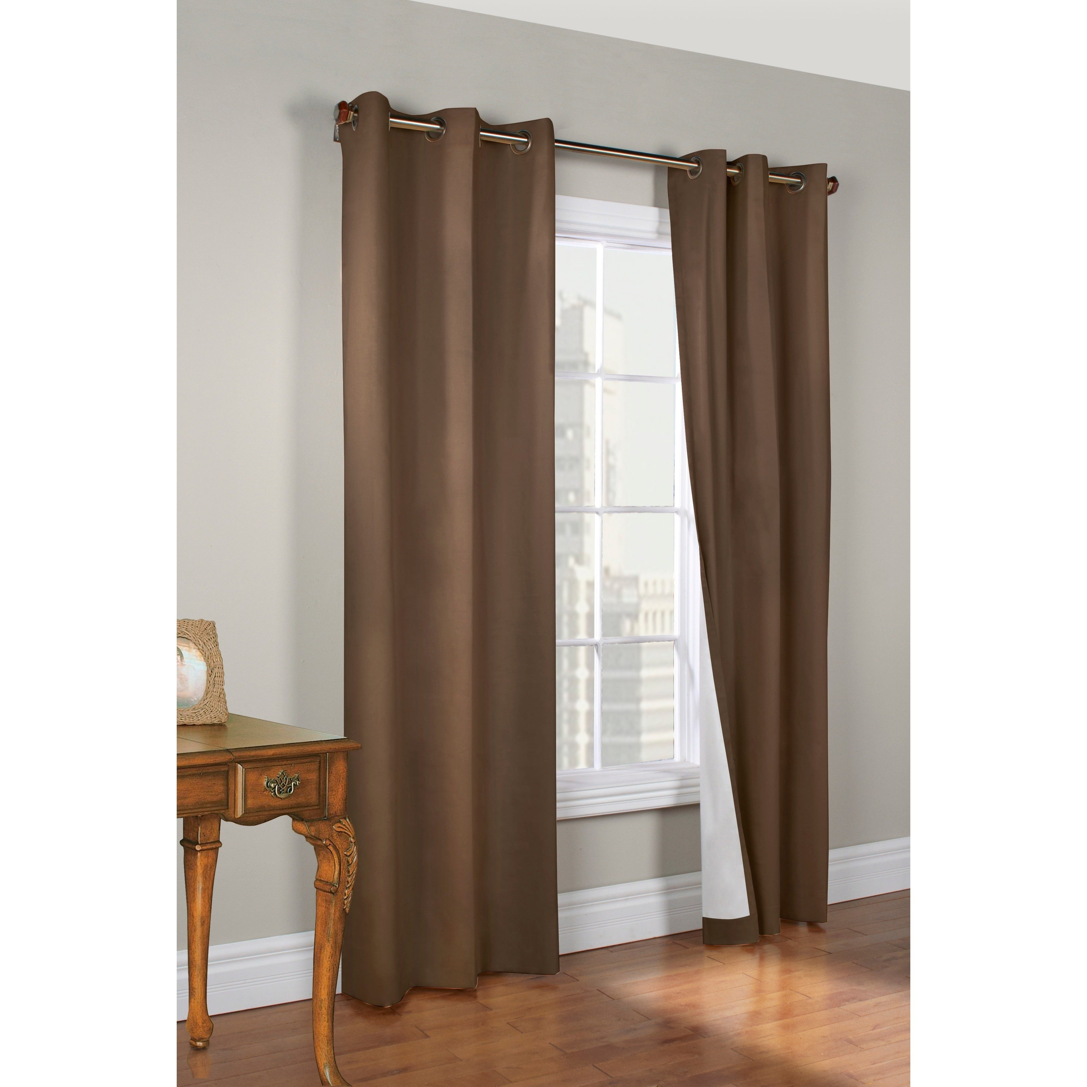Thermalogic Weathermate Insulated Grommet Curtain Panel Pair Intended For Insulated Cotton Curtain Panel Pairs (View 2 of 20)