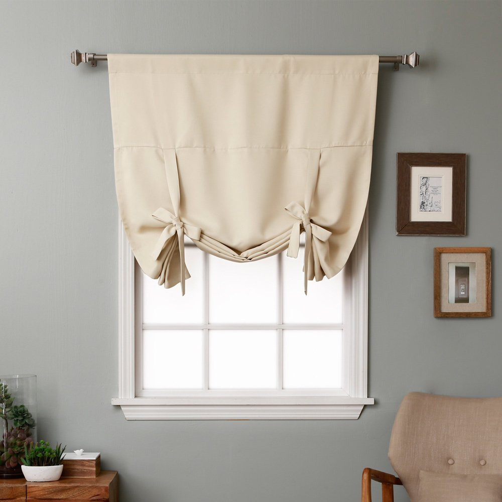 Tie Up Curtain – Curtain Decorating Ideas In Prescott Insulated Tie Up Window Shade (View 20 of 20)