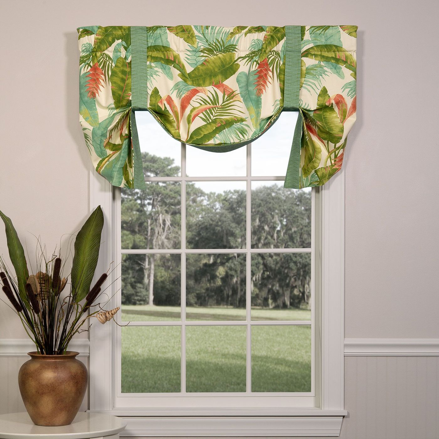 Tie Up Valances: Solid Colored, Patterned, Prints In Prescott Insulated Tie Up Window Shade (View 12 of 20)