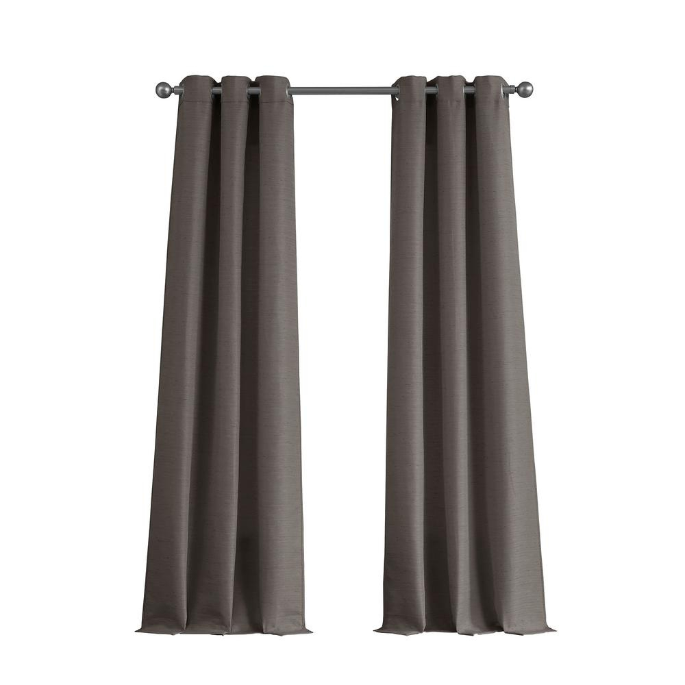 Tribeca Raw Faux Silk Grommet 76 In. X 84 In (View 18 of 20)