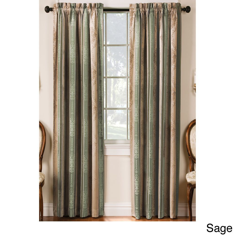 Tuscan Thermal Backed Blackout Curtain Panel Pair | Curtains Within Tuscan Thermal Backed Blackout Curtain Panel Pairs (View 2 of 30)