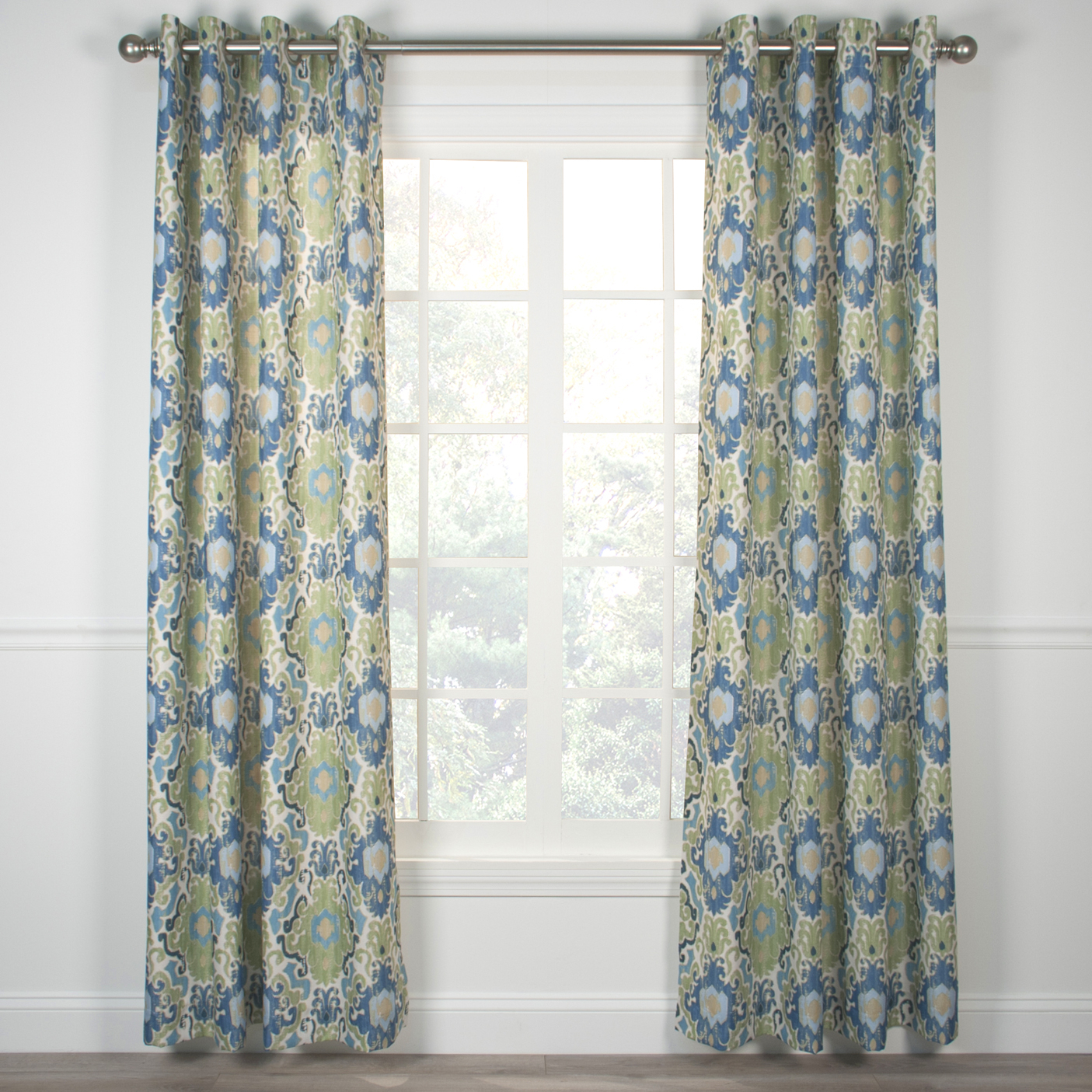 Tuscany Grommet Top Curtain Panel Within Lined Grommet Curtain Panels (View 13 of 20)