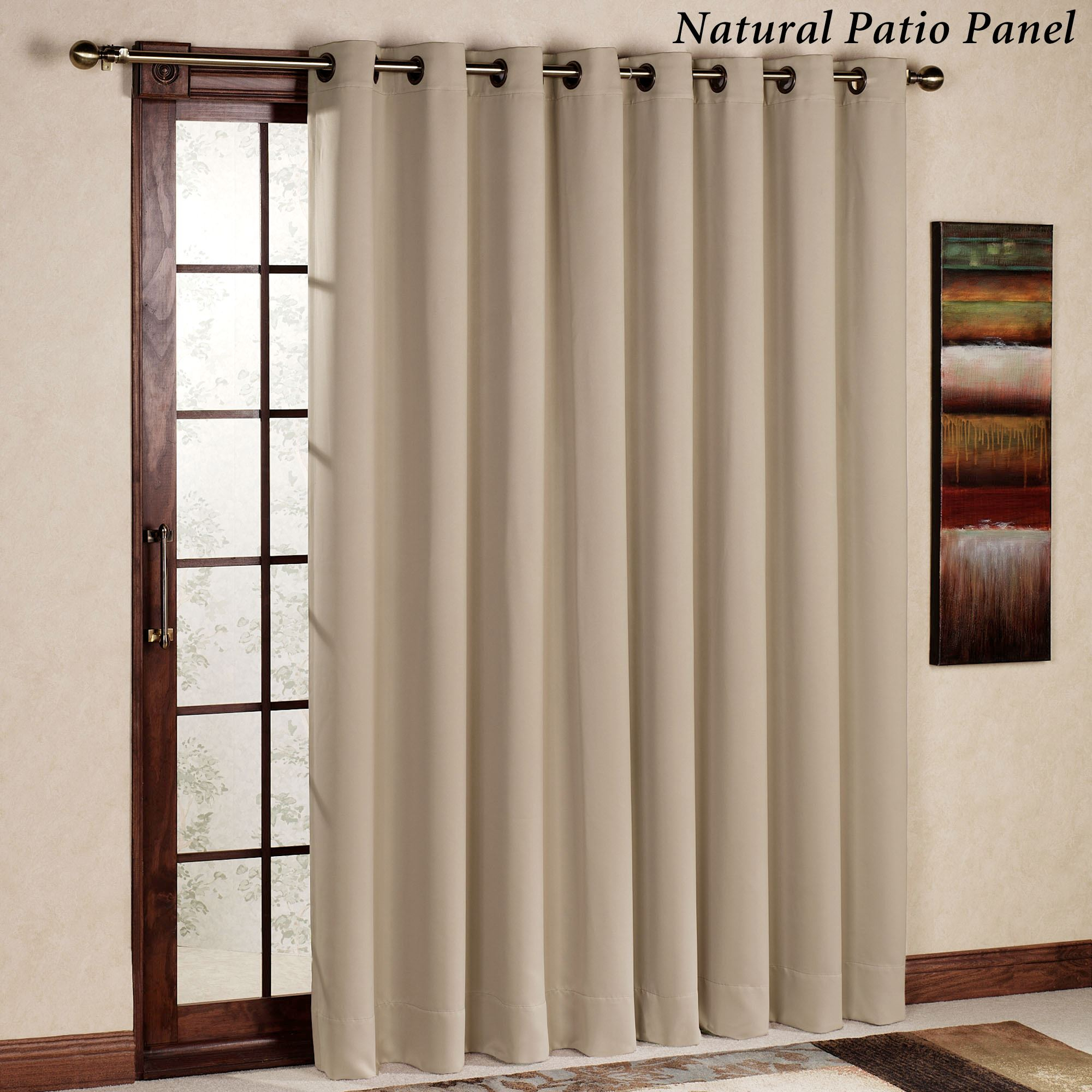 Ultimate Blackout Grommet Curtain Panel Regarding Ultimate Blackout Short Length Grommet Curtain Panels (View 7 of 30)