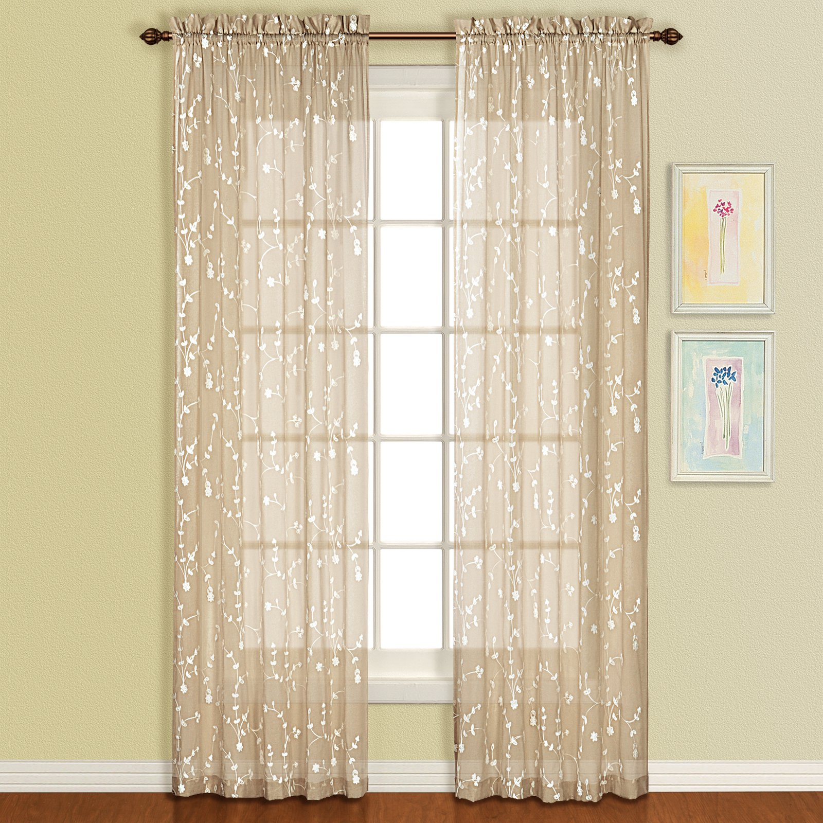 United Curtain Savannah Curtain Panel In 2019 | Products pertaining to Luxury Collection Venetian Sheer Curtain Panel Pairs (Image 19 of 20)
