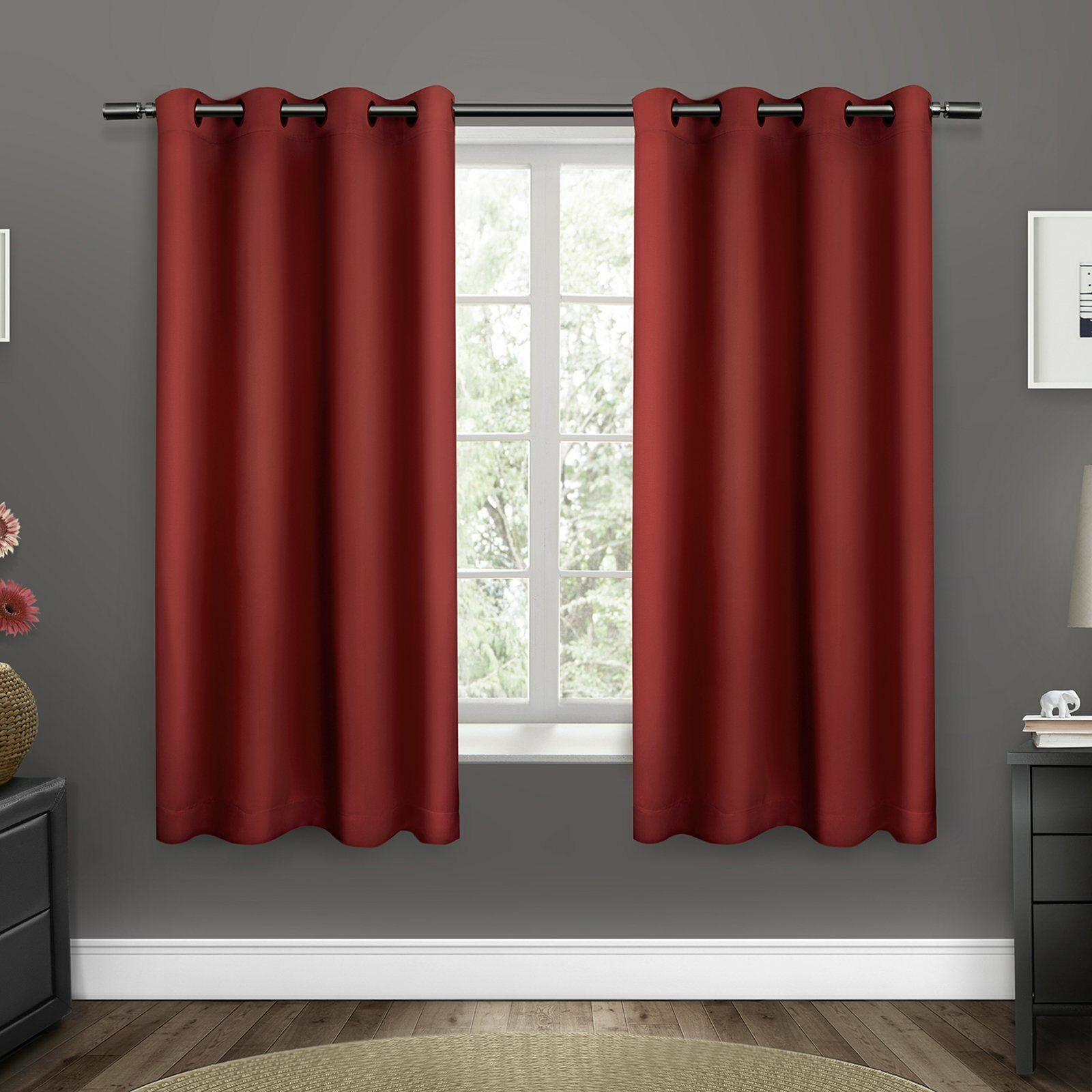 Upc 642472006601 – Exclusive Home Sateen Twill Weave Grommet With Regard To Sateen Twill Weave Insulated Blackout Window Curtain Panel Pairs (View 19 of 20)