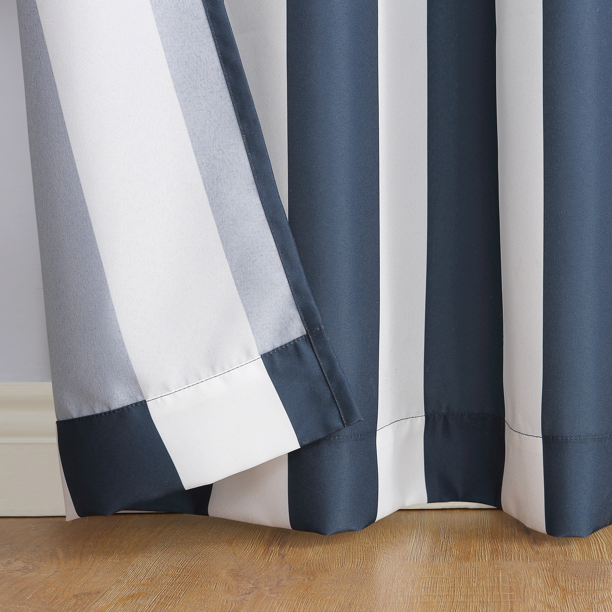 Valencia Grommet Curtain Panel Intended For Valencia Cabana Stripe Indoor/outdoor Curtain Panels (View 14 of 30)