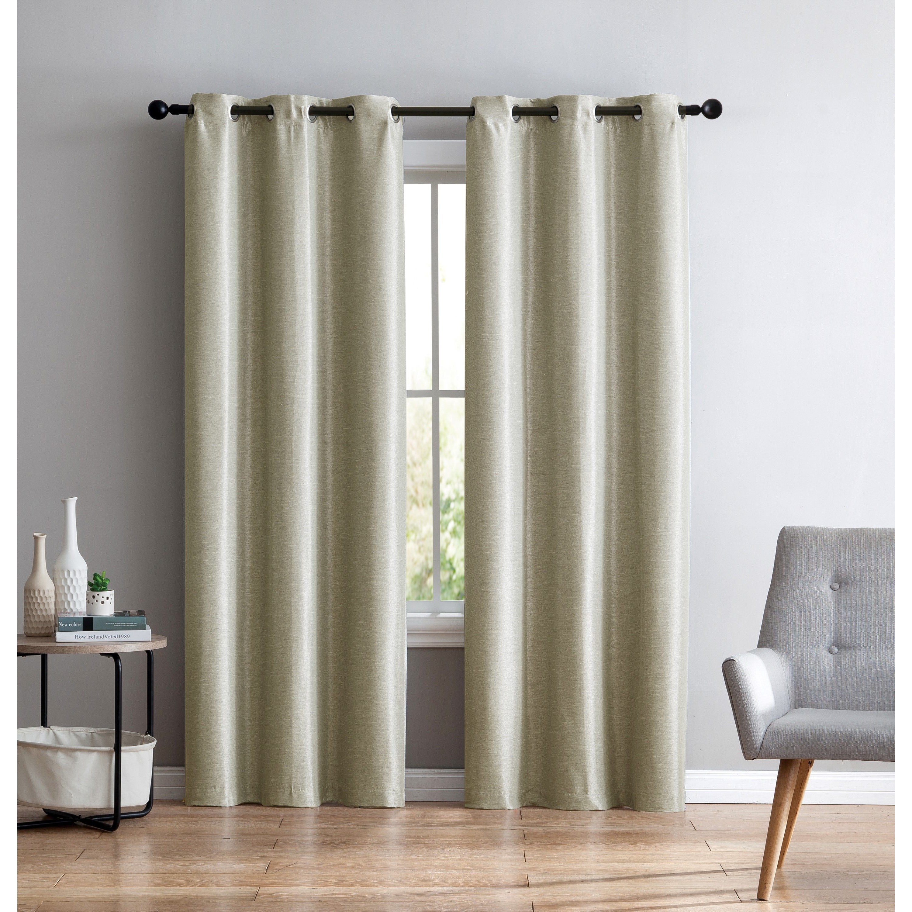 Vcny Home Arlenis Faux Silk Blackout Panel Pair Pertaining To Overseas Faux Silk Blackout Curtain Panel Pairs (View 8 of 20)