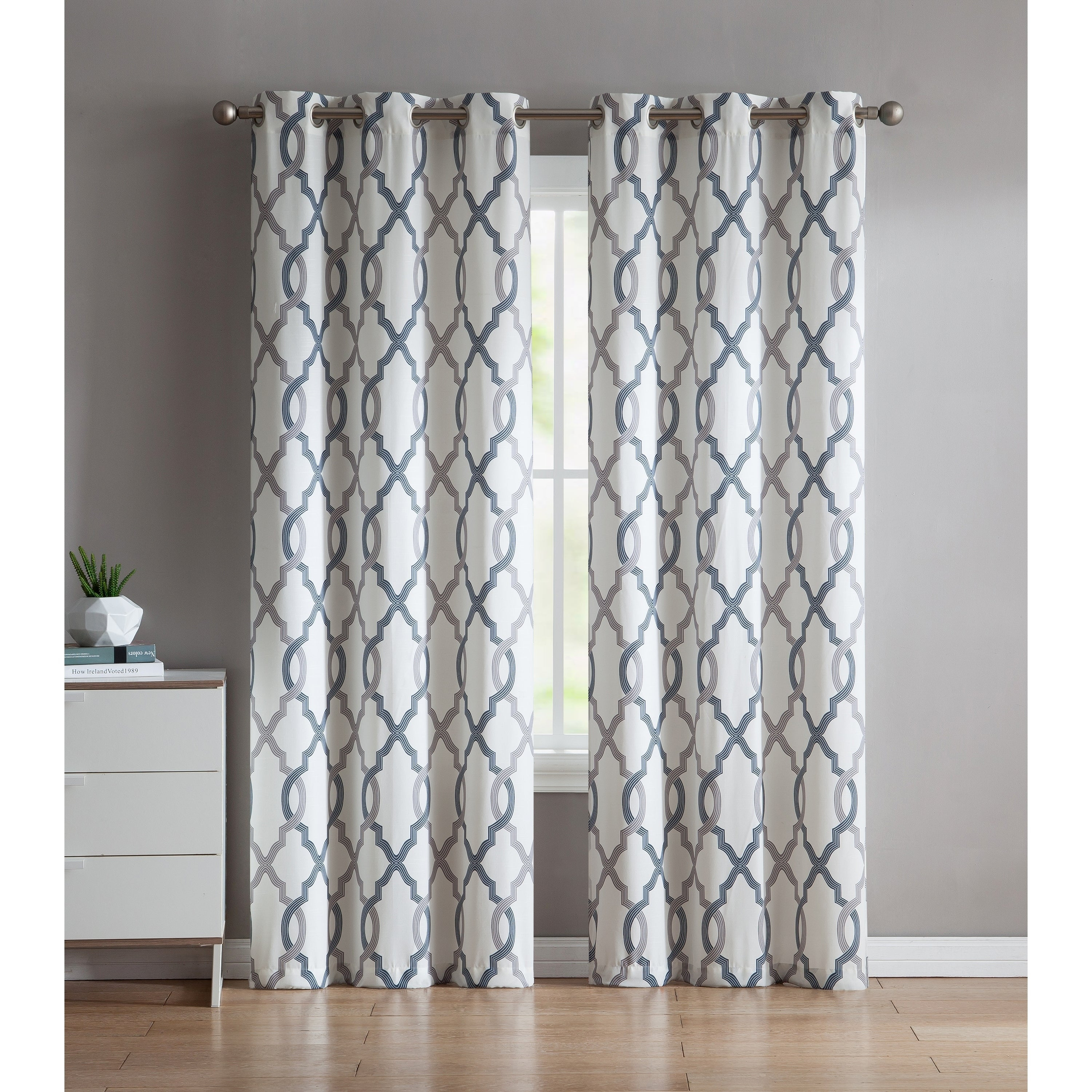 Popular Photo of Caldwell Curtain Panel Pairs