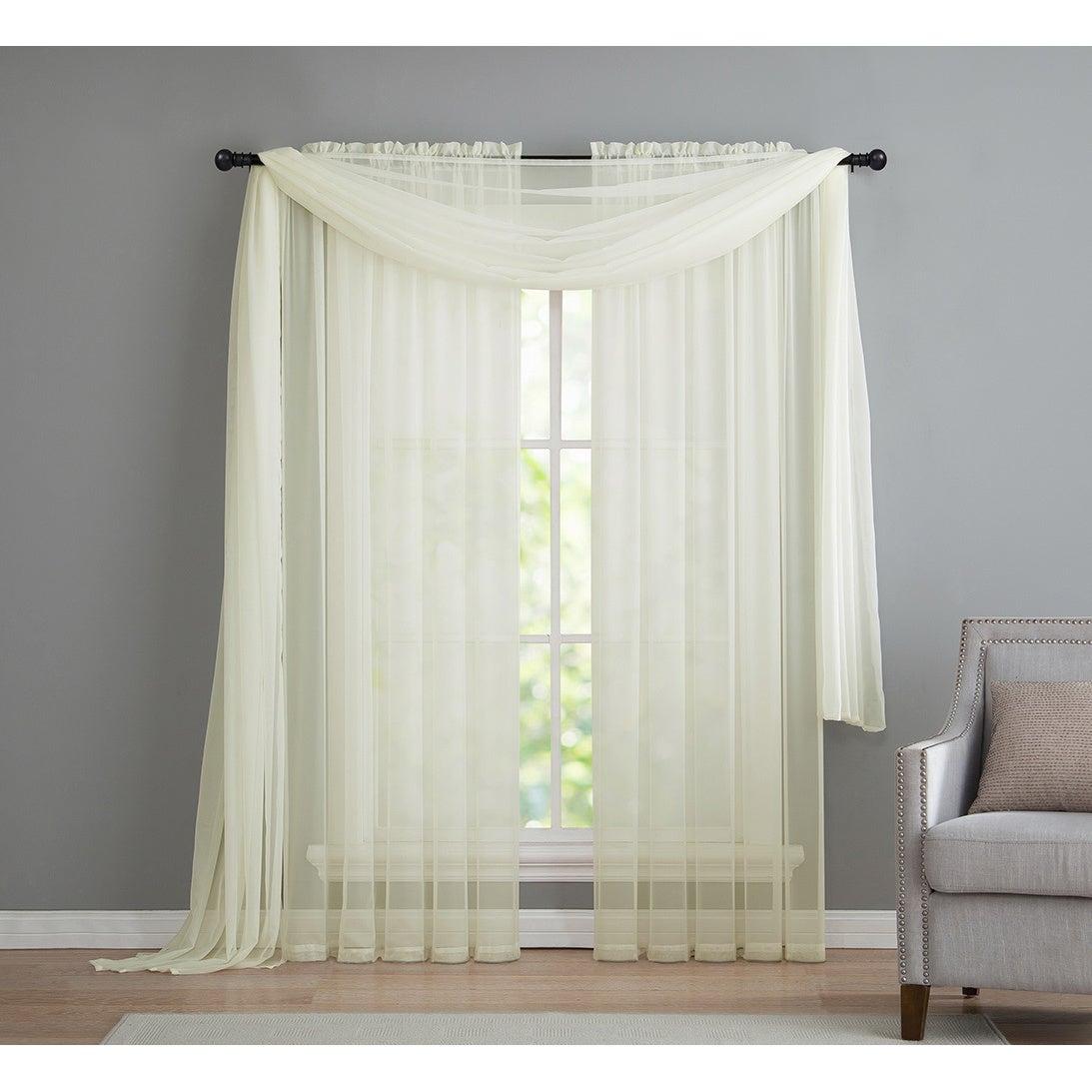 Popular Photo of Infinity Sheer Rod Pocket Curtain Panels