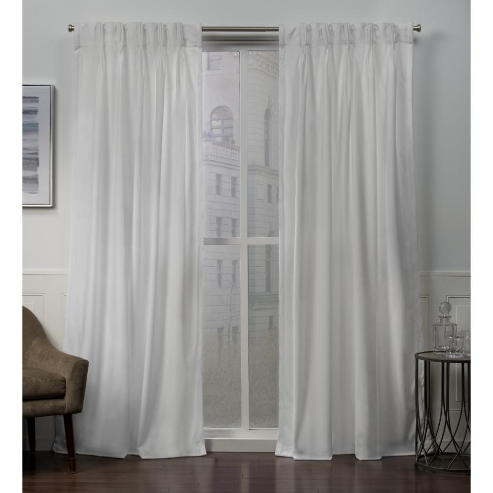 Velvet Pinch Pleat Curtains – Easy Home Decorating Ideas For Signature Pinch Pleated Blackout Solid Velvet Curtain Panels (View 35 of 36)